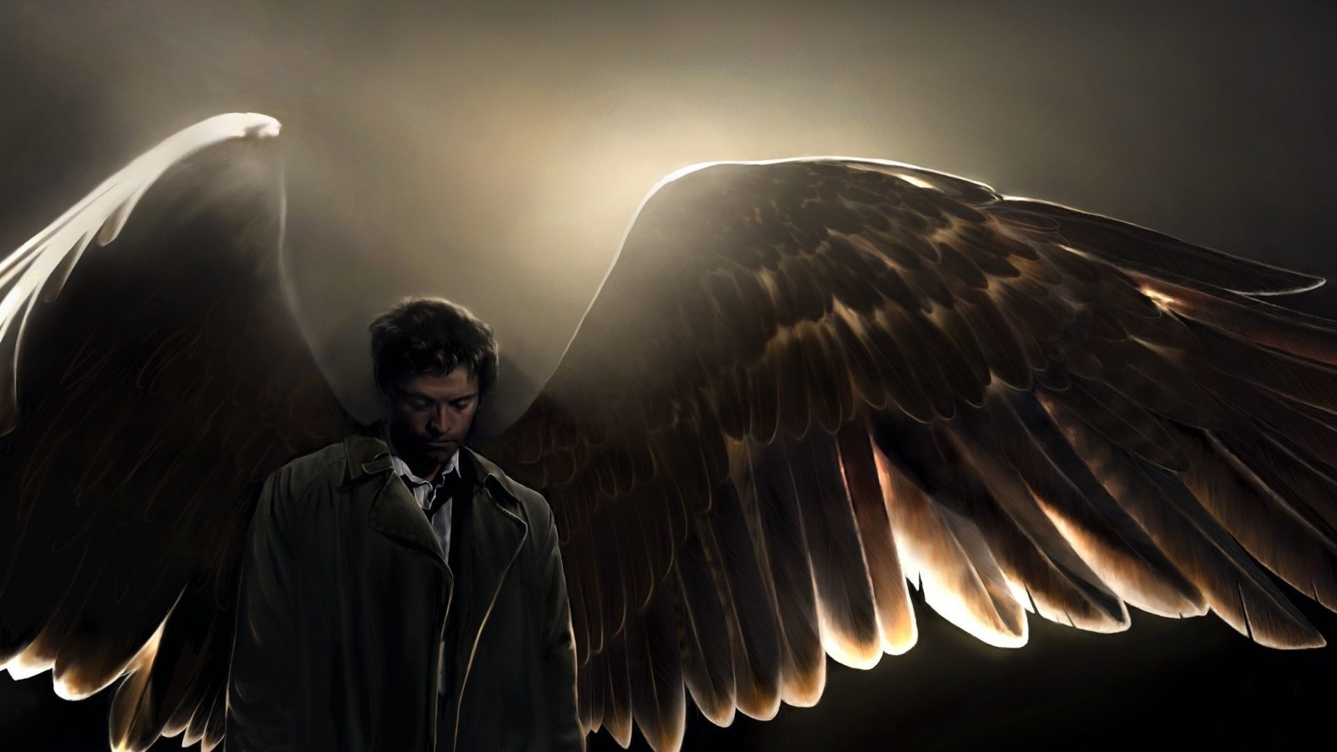 Supernatural Wallpaper Castiel