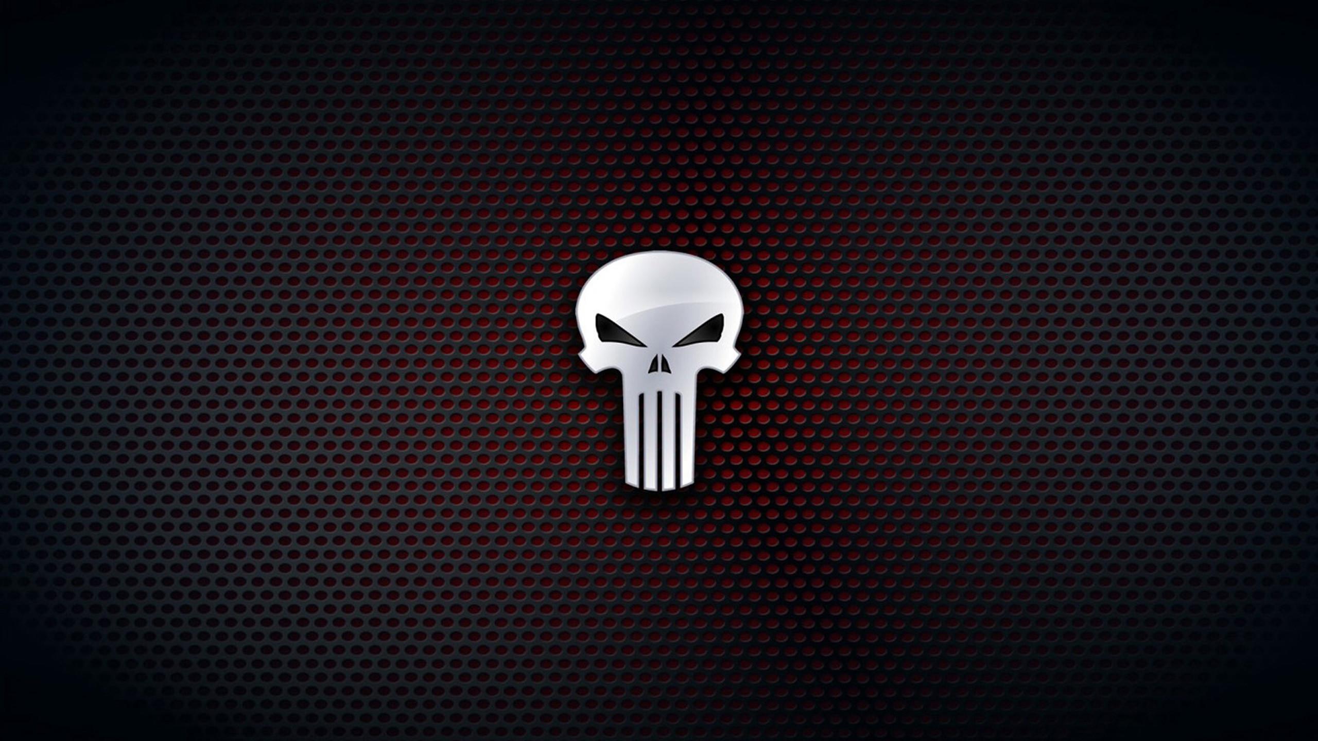 The Punisher Skull Wallpaper ·①