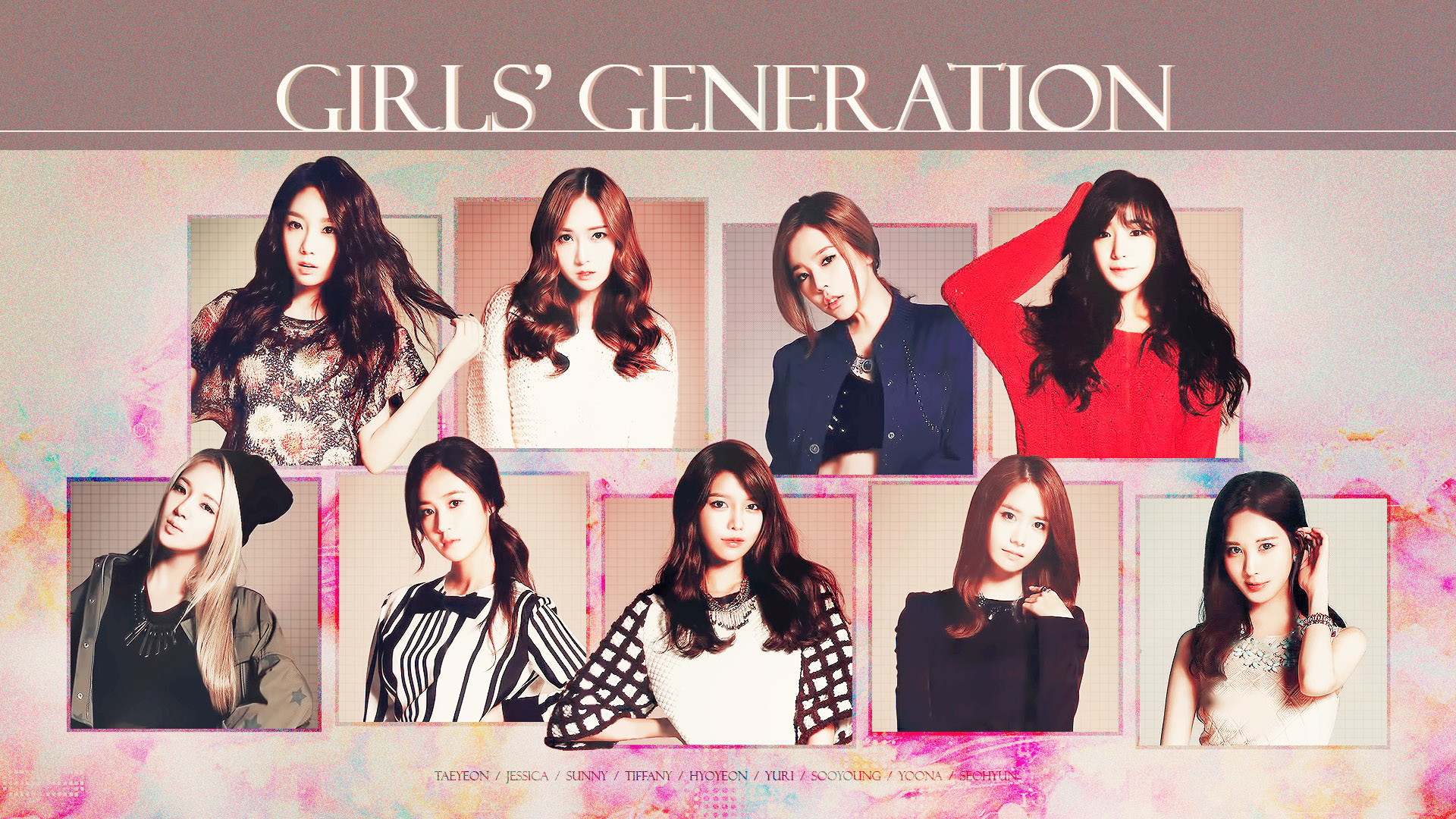 Girls Generation Snsd A Complete Data Record Updated Nov 21