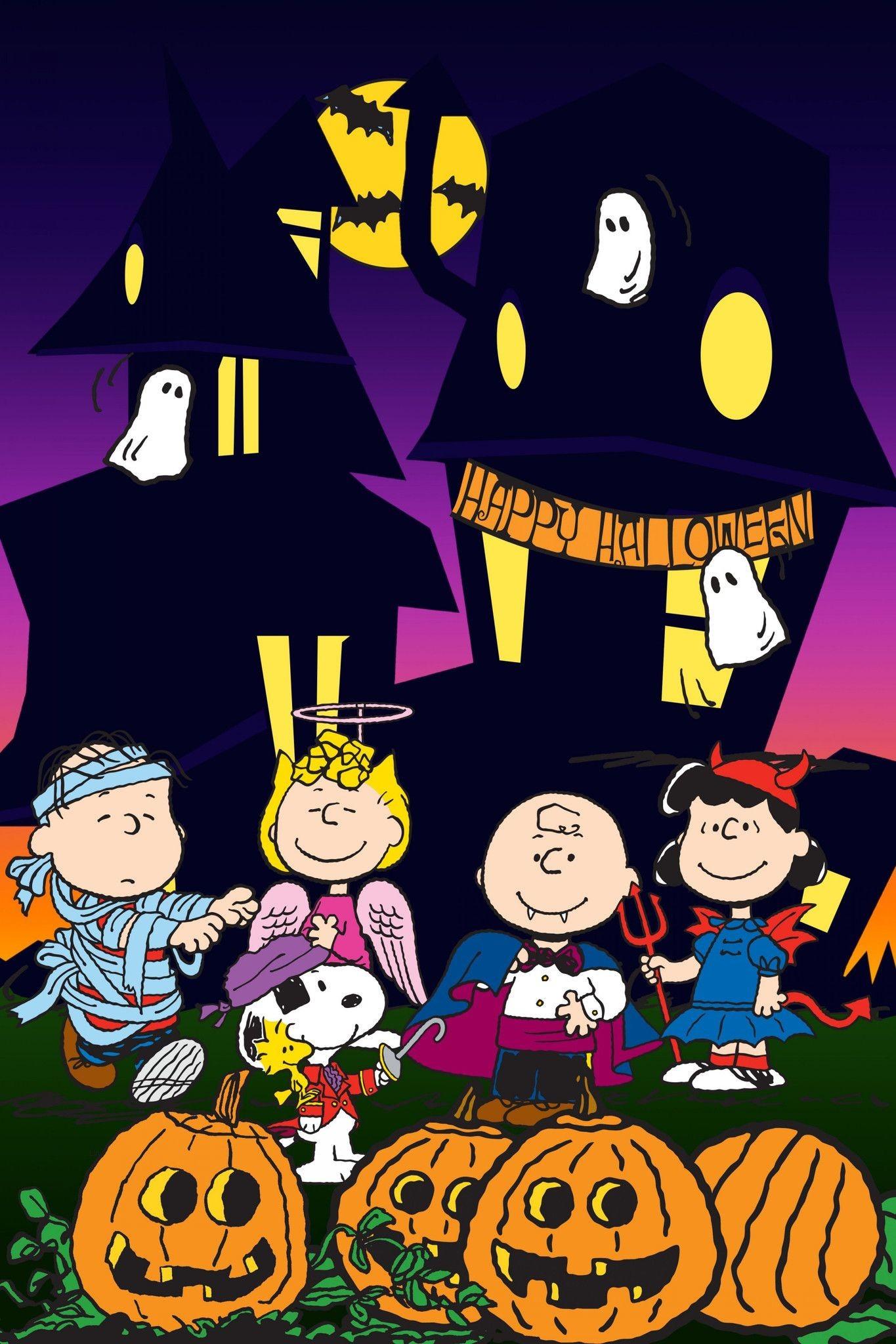 Charlie Brown Halloween Wallpaper Wallpapertag