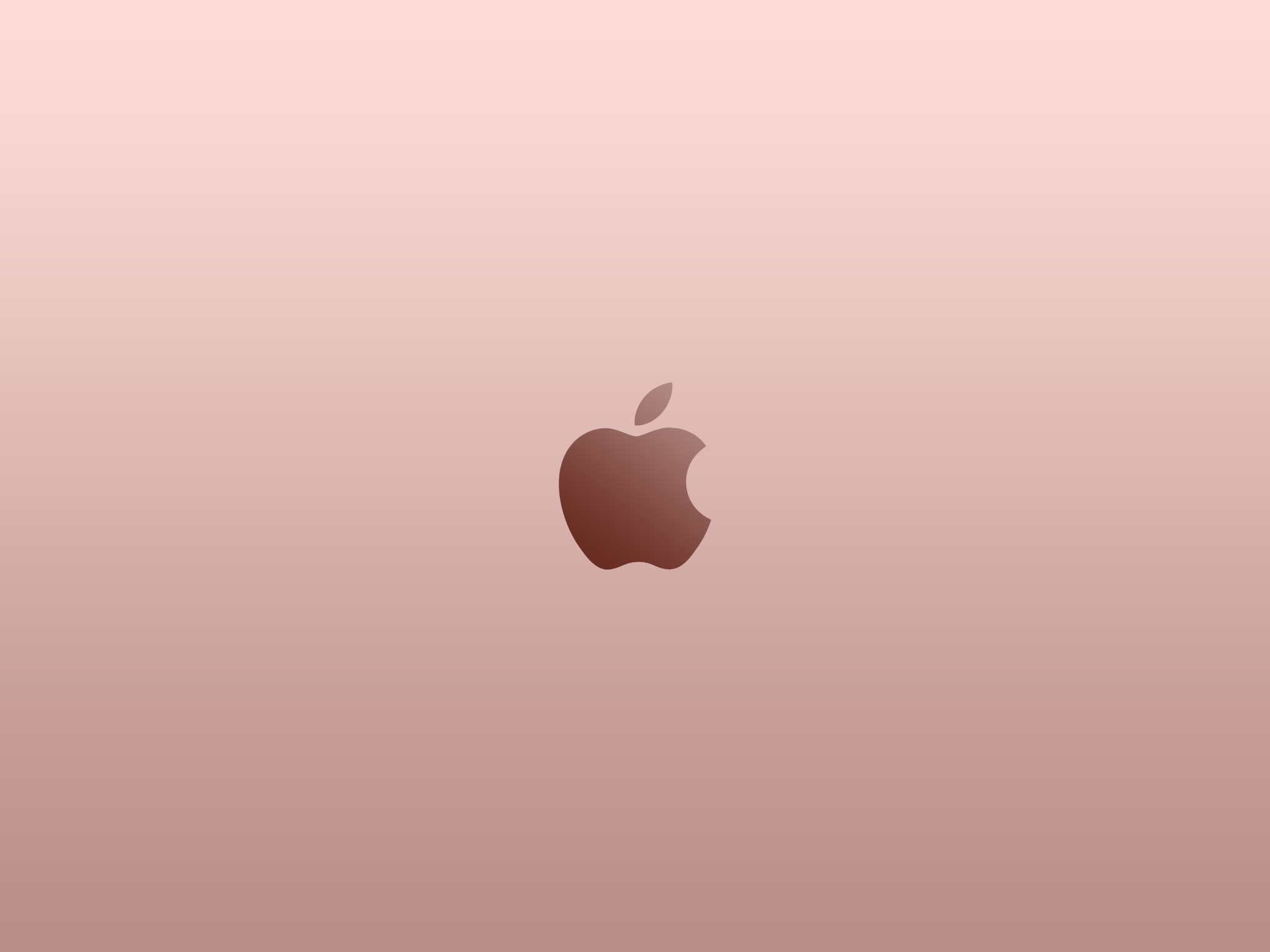 Apple Logo Rose Gold Wallpaper By Superquanganh