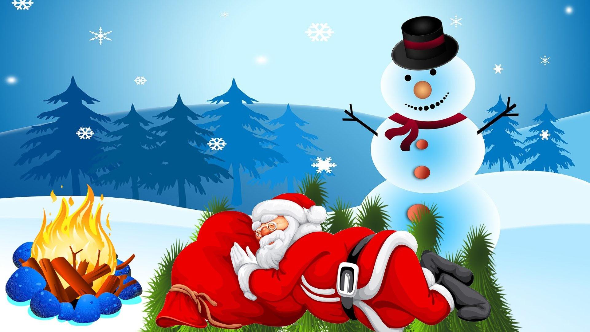 Snowman Desktop Wallpaper 1