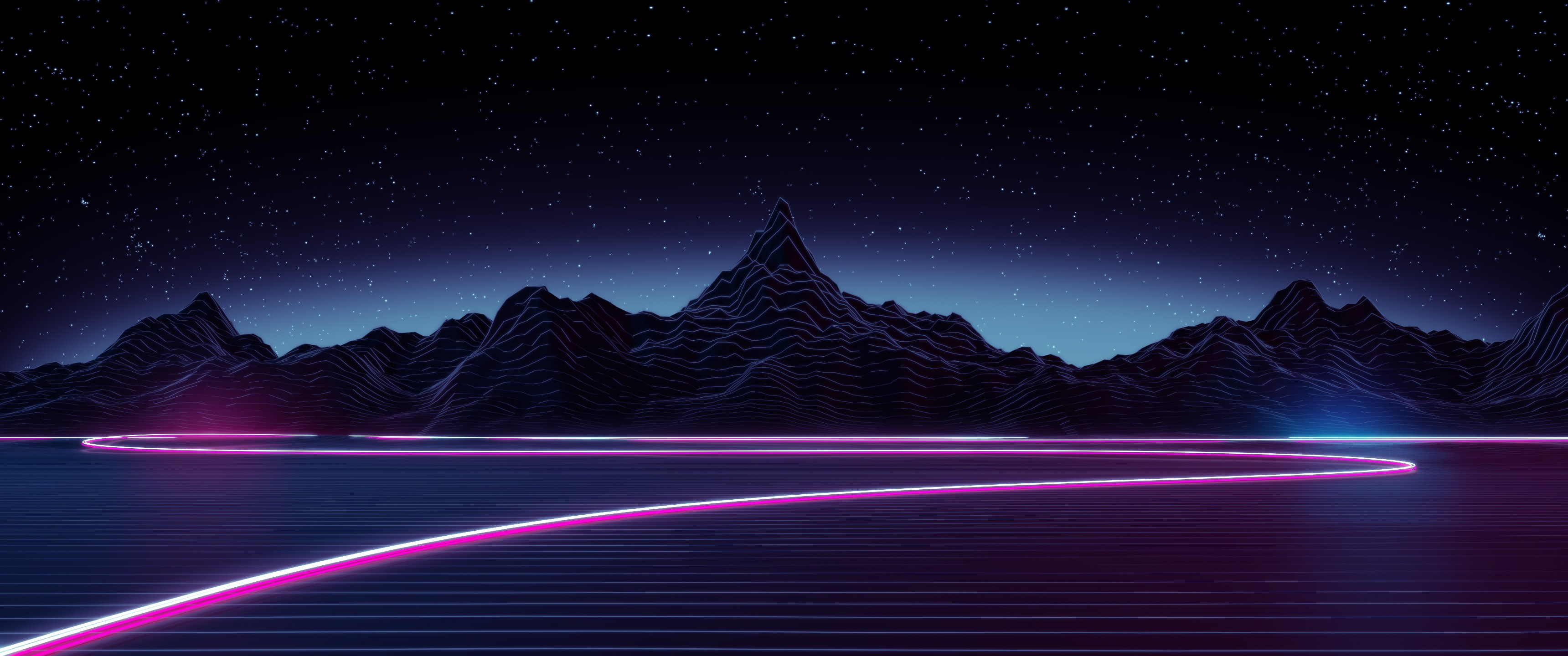 Synthwave wallpaper download free high resolution - Free 1920x1080 desktop wallpaper ...