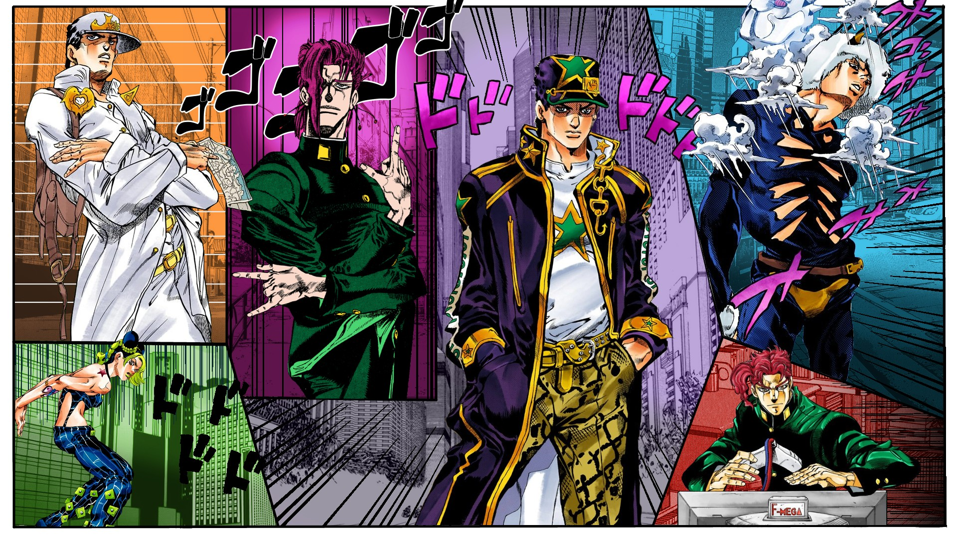 Jojo Manga Wallpaper