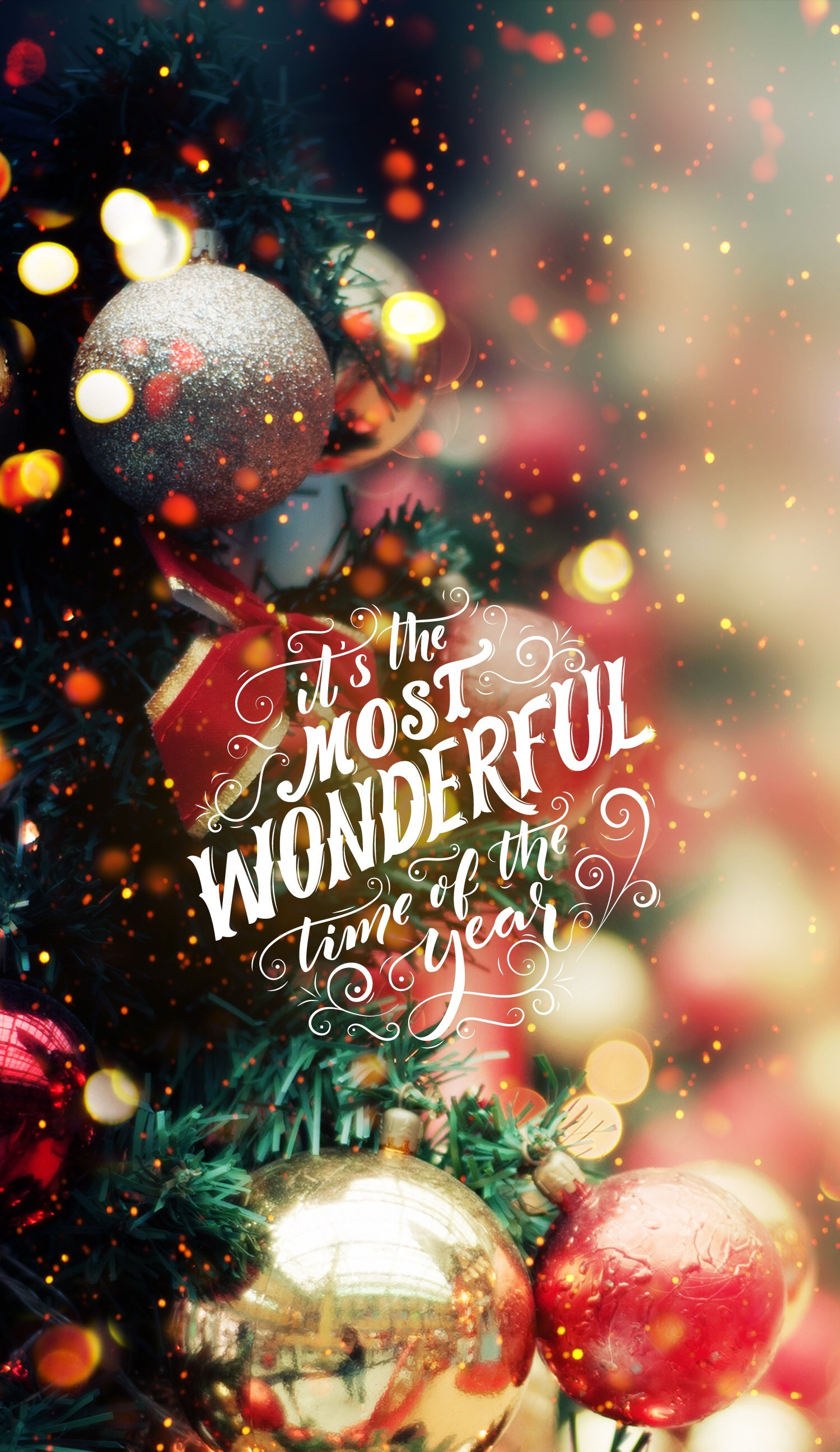Pretty Christmas Backgrounds ·①