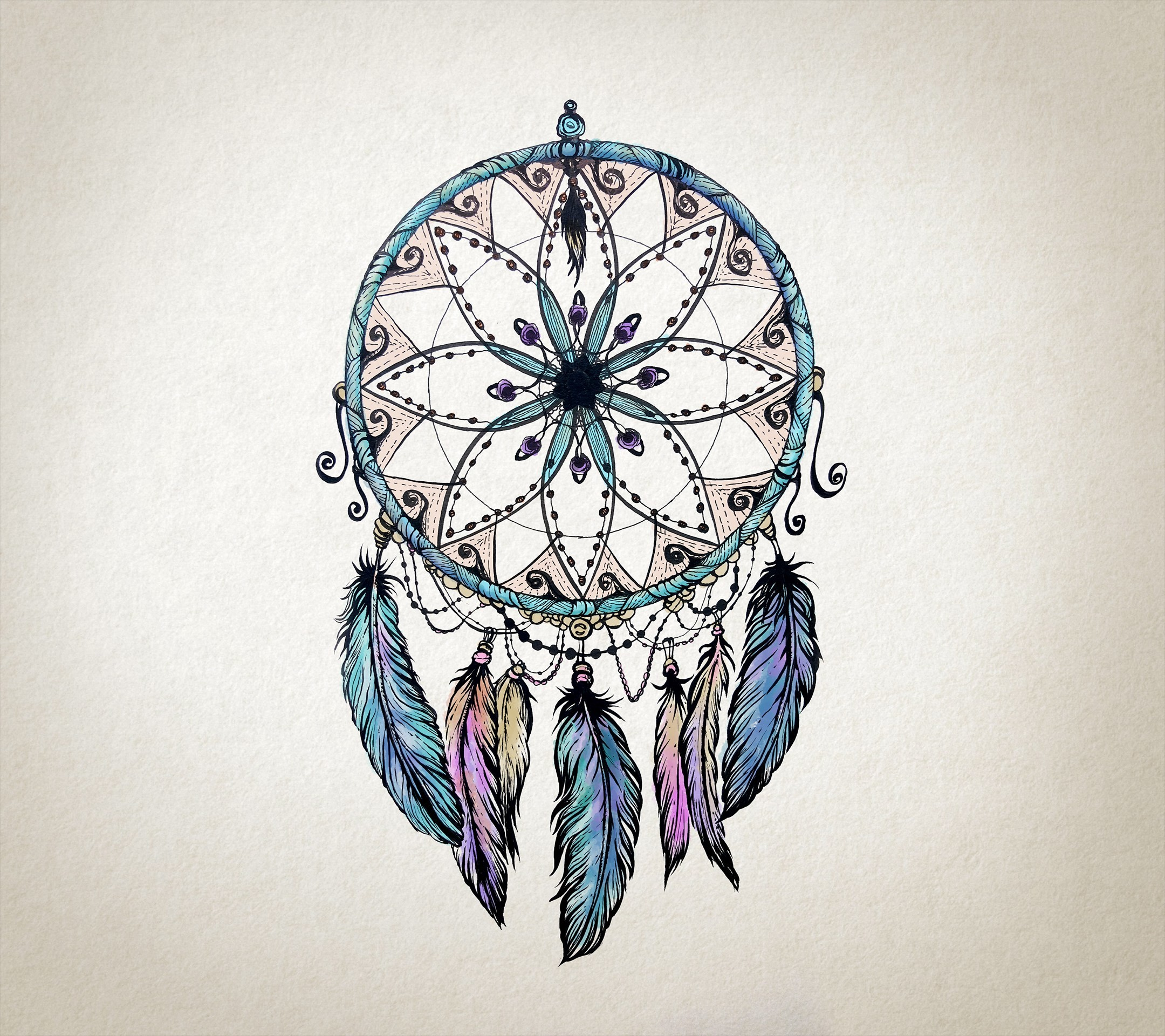 Pictures Of Dream Catchers: Dreamcatcher Tumblr Background ·①