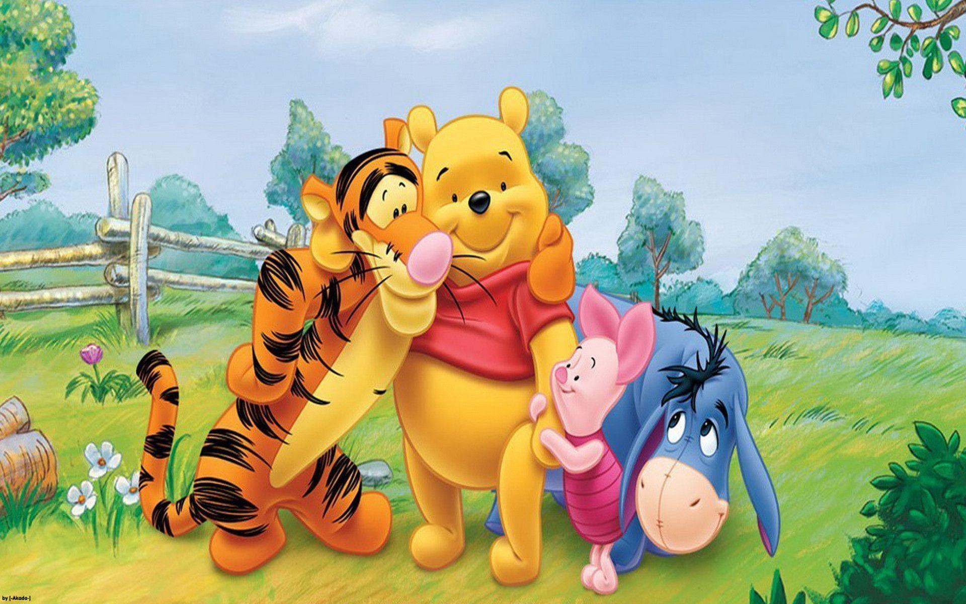 My friends tigger pooh wallpapers 1920x1200 winnie the pooh screensavers wallpaper hd download altavistaventures Images