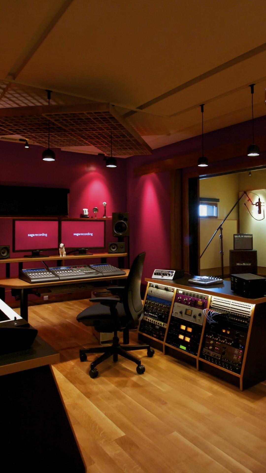Recording Studio Wallpaper ·①