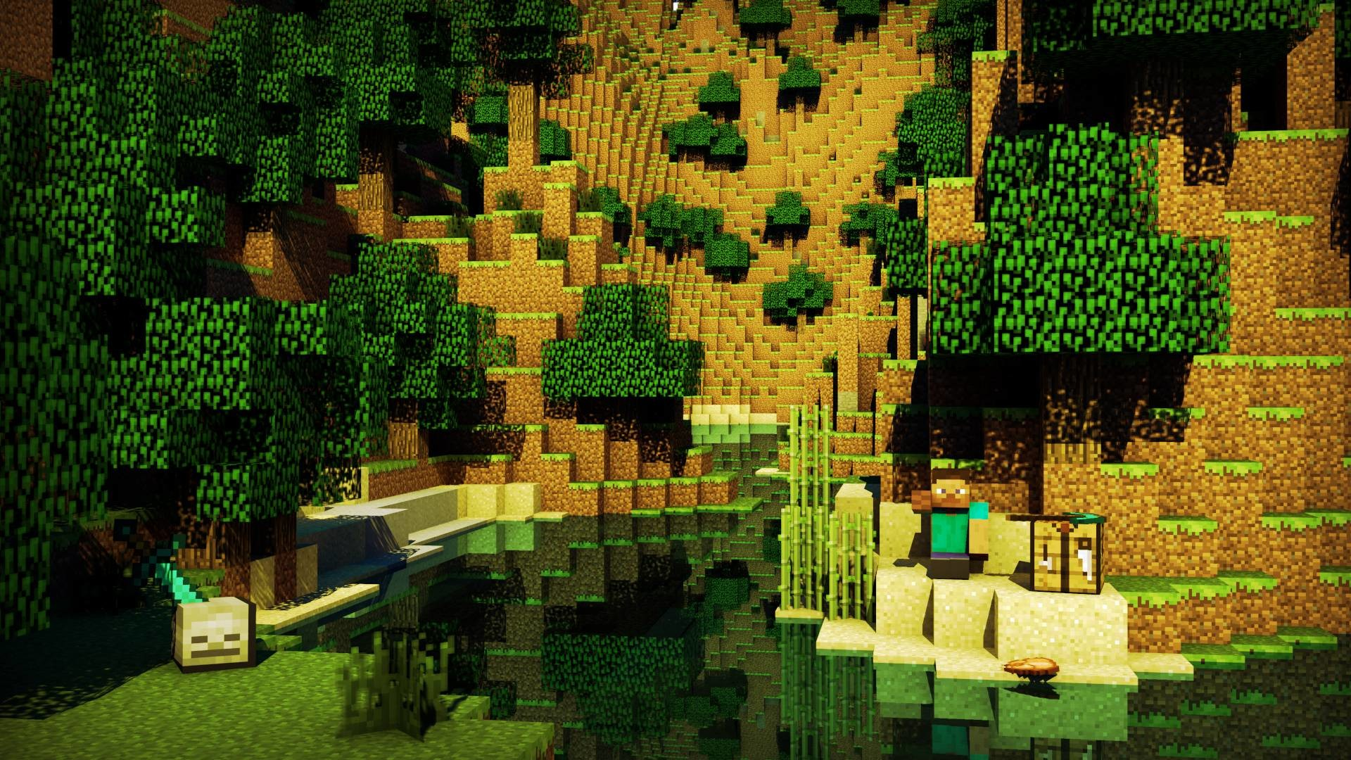 Cool Minecraft Background 1