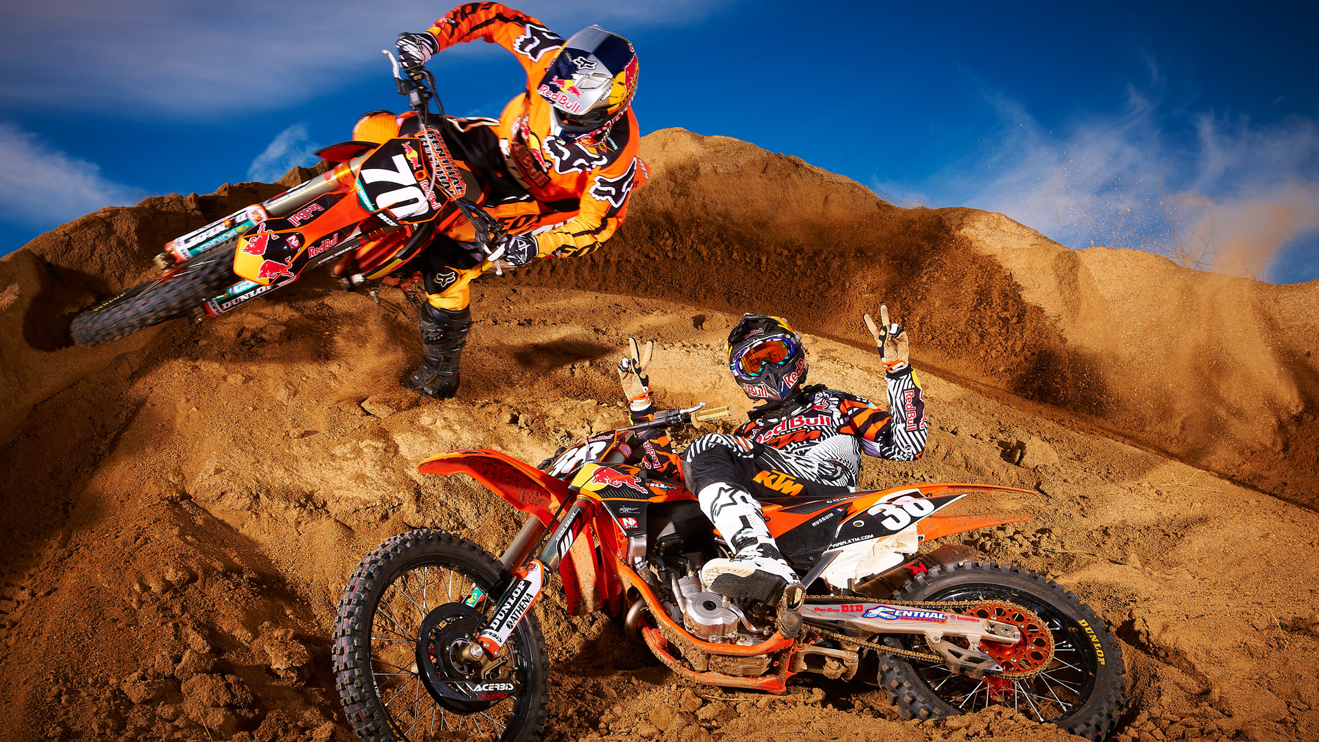 10 New Ktm Dirt Bike Wallpapers Full Hd 1080p For Pc: Dirt Bike Wallpaper ·① WallpaperTag