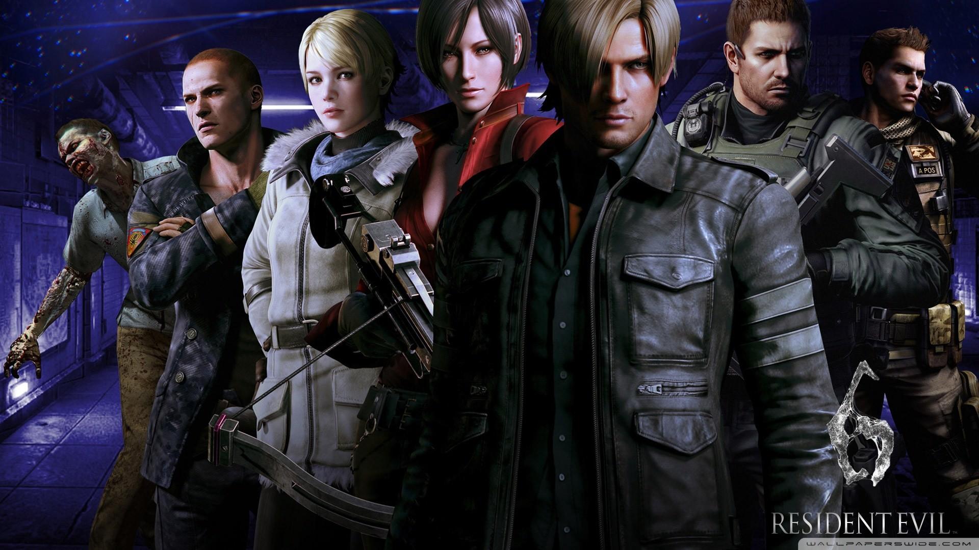 Resident Evil 6 Wallpaper Hd 1920x1080 Wallpapertag