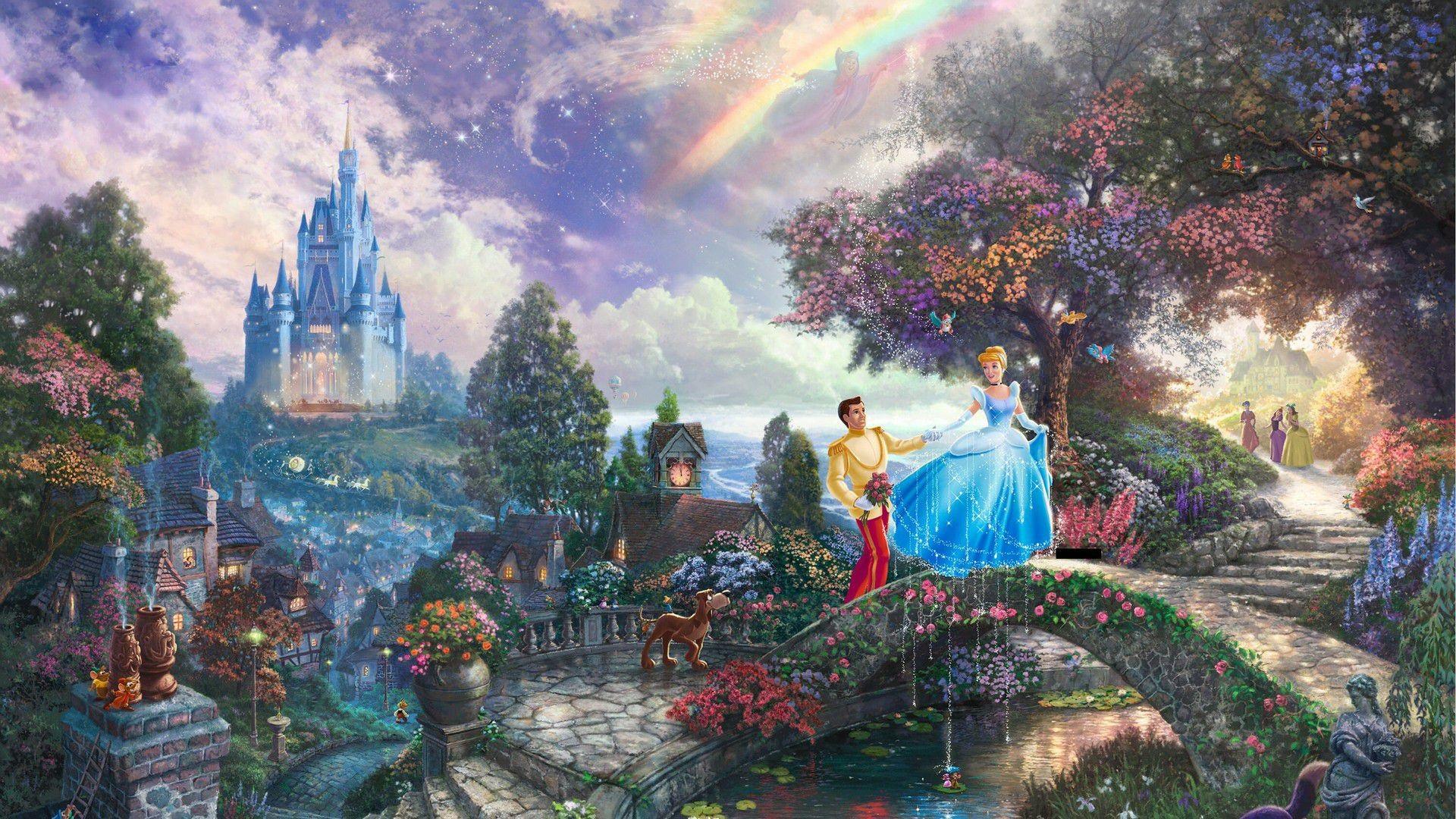 1920x1080 Disney Princess Cinderella Images Download Wallpapers
