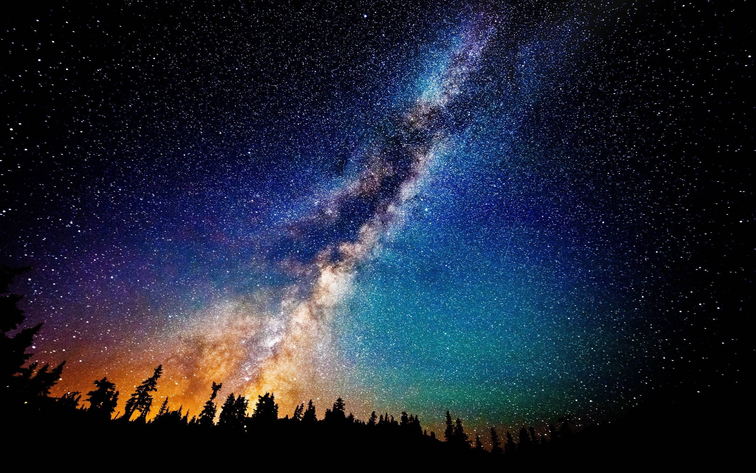 2560x1600 Milky Way Wallpapers