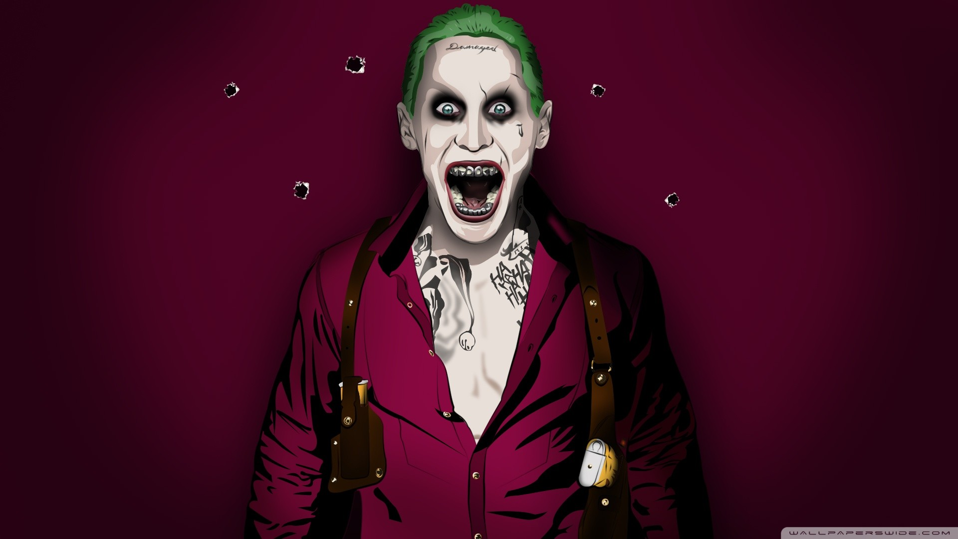 Jared Leto Joker Wallpapers Wallpapertag