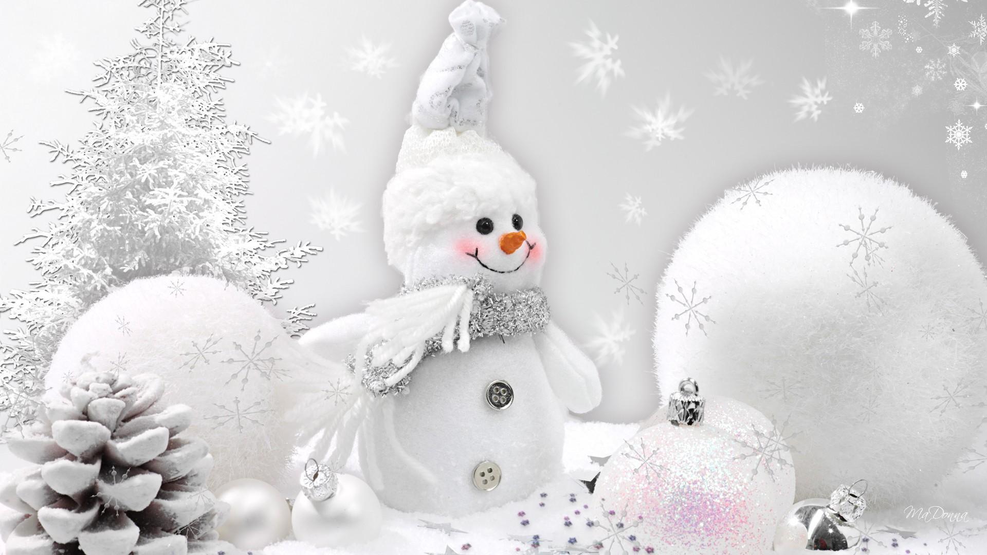 White Christmas Wallpaper 1