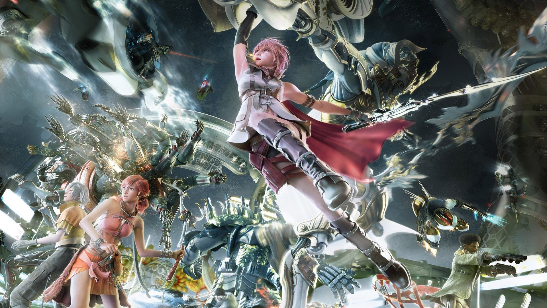 Final Fantasy 13 Hd Wallpaper Wallpapertag