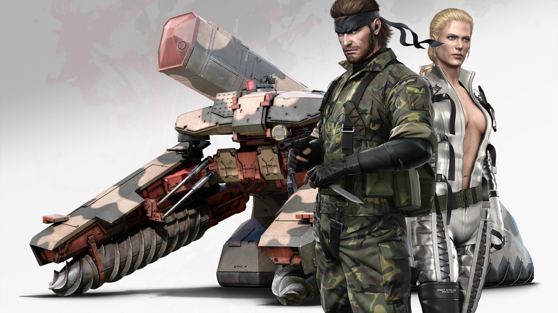 Metal Gear Solid, Big Boss, Metal Gear Solid 3: Snake
