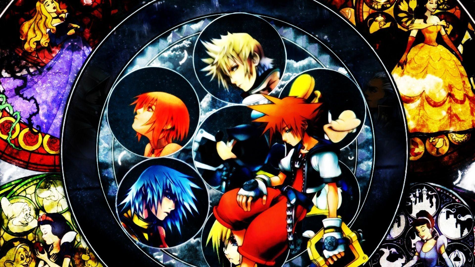 Kingdom Hearts wallpaper 1920x1080 ·① Download free ...
