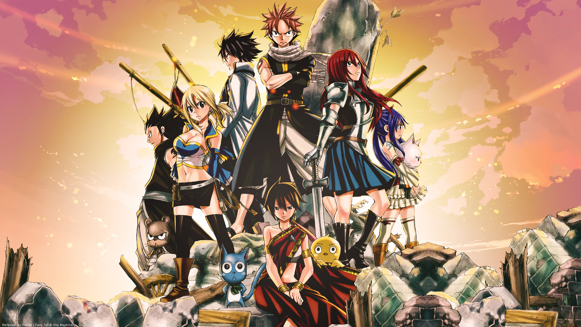 Fairy Tail Wallpapers ·â' WallpaperTag