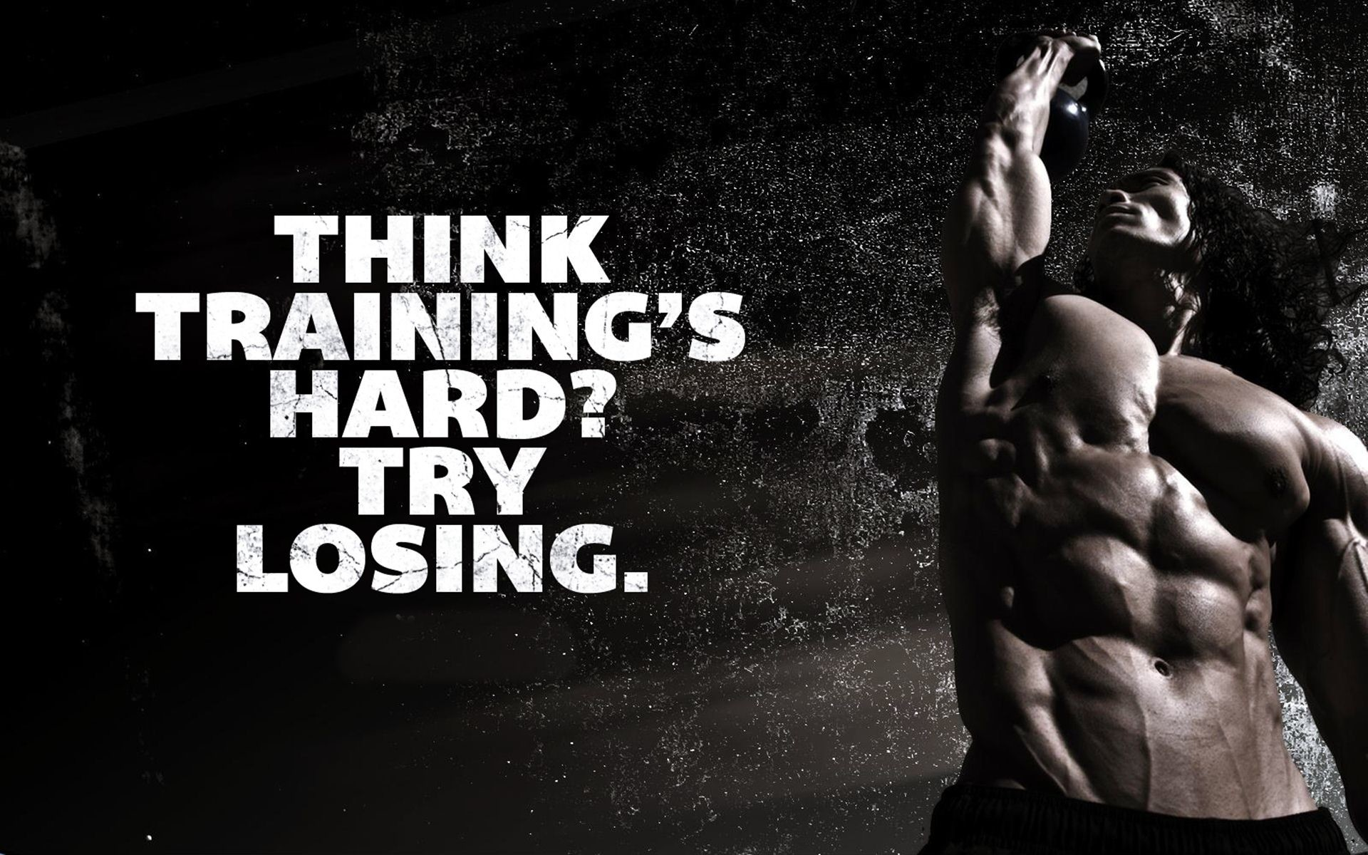 Captivating Bodybuilding Motivation HD Desktop Wallpaper ...