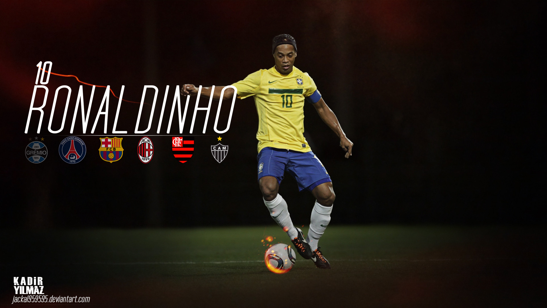 Ronaldinho Wallpapers ①