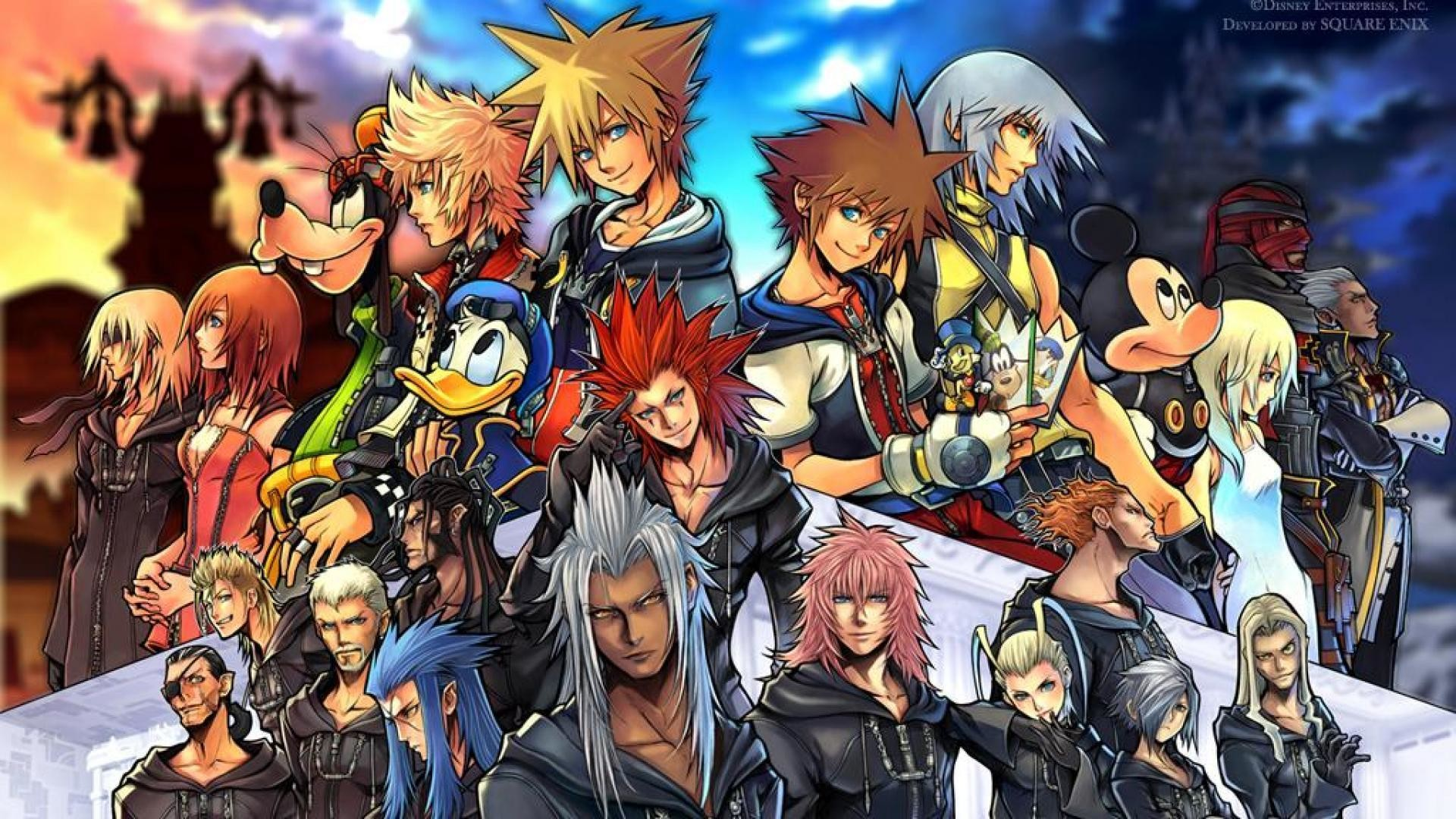 Kingdom Hearts Desktop Backgrounds Wallpapertag