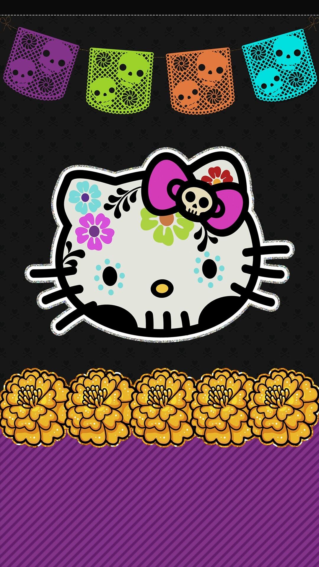 Hello Kitty Halloween Backgrounds ·① WallpaperTag
