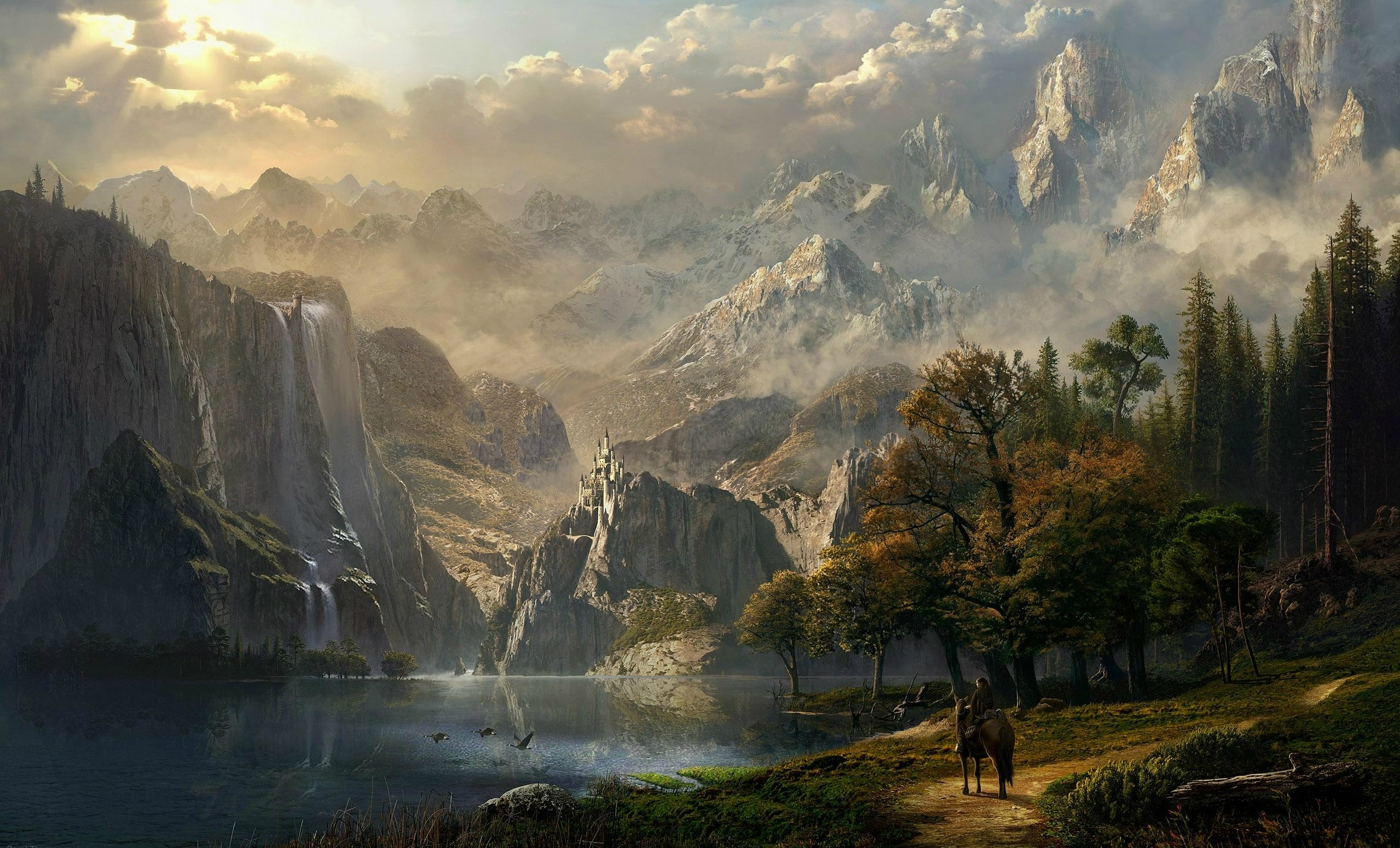 fantasy landscape wallpaper ·① download free awesome hd backgrounds