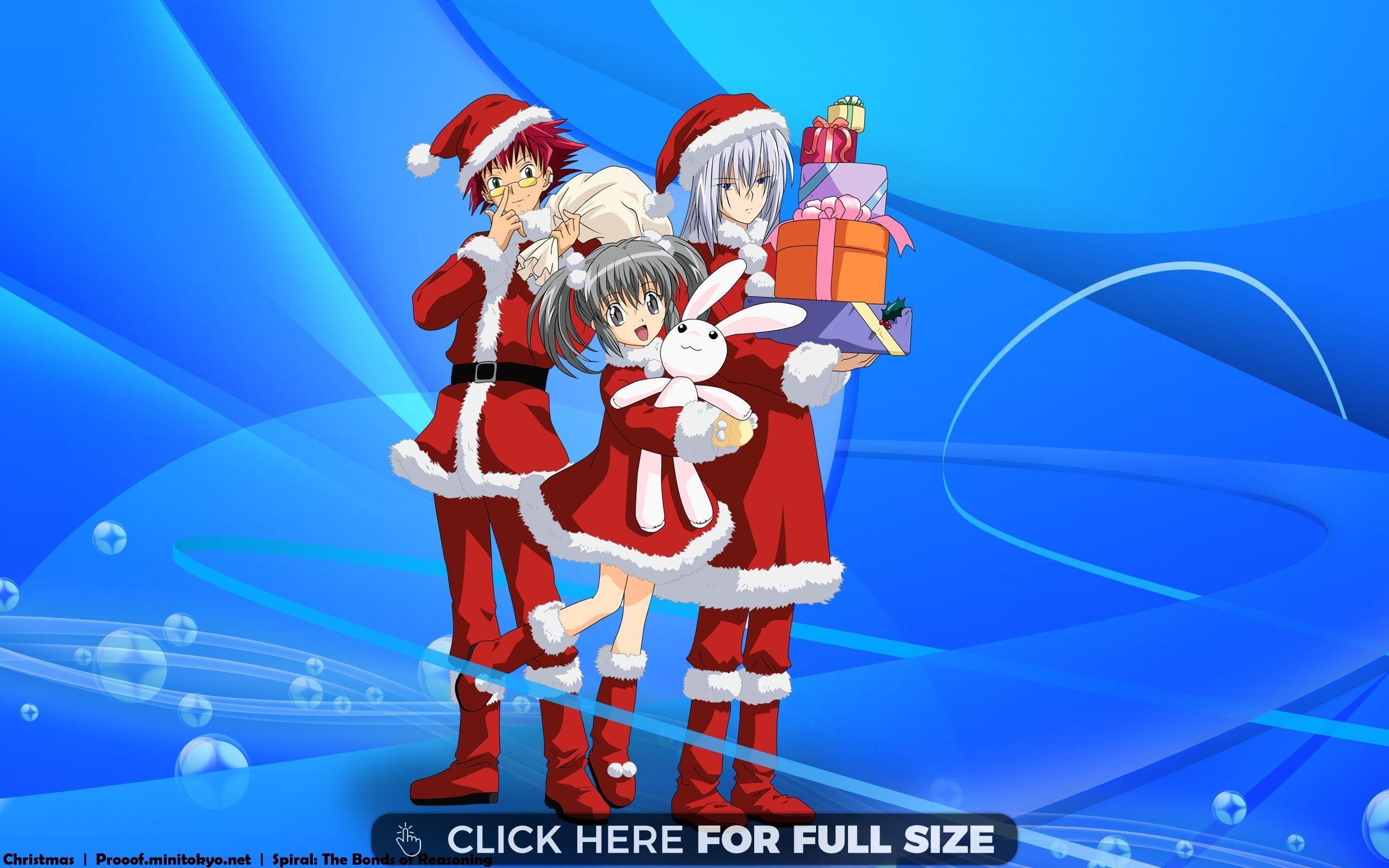 Betty boop christmas wallpaper wallpapertag - Anime girl christmas wallpaper ...