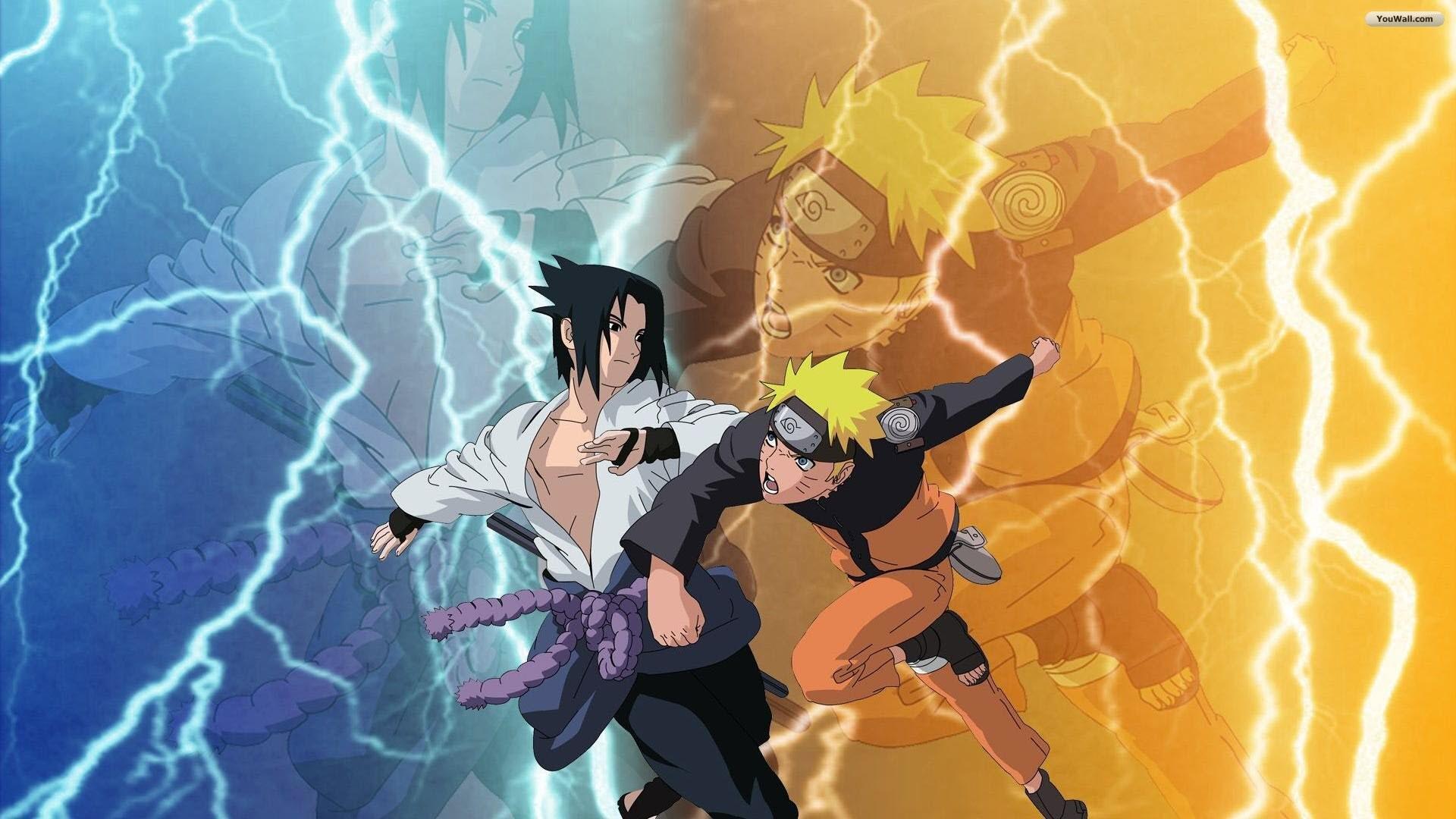 Sasuke and Naruto Wallpaper ·① WallpaperTag