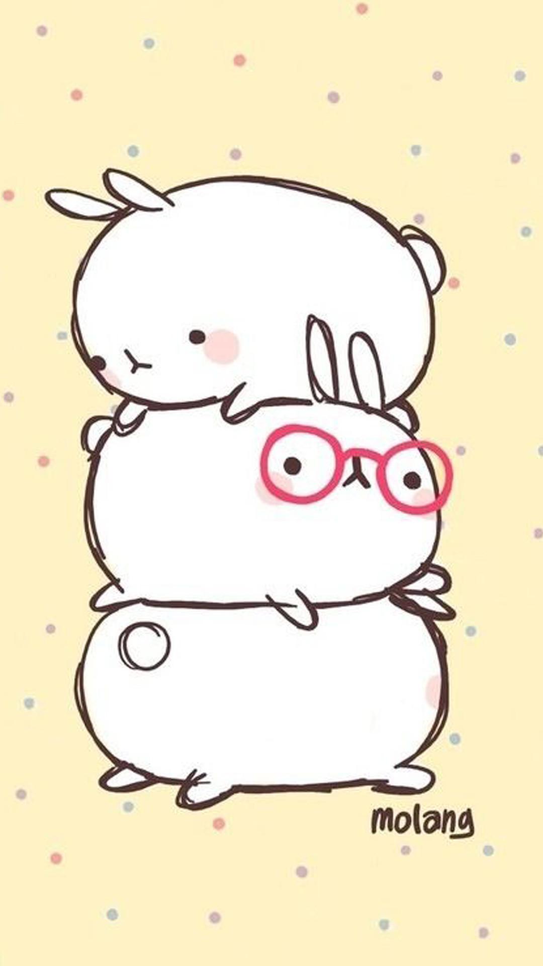 cute bunny drawings - 500×750