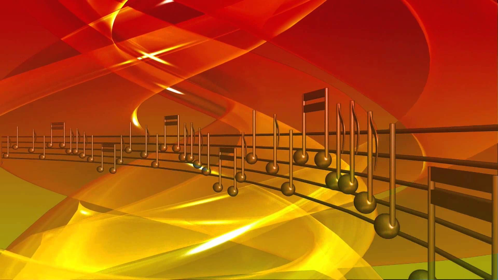 Colorful Music Notes In A Lin Hd Wallpaper Background Images: Musical Background Images ·①