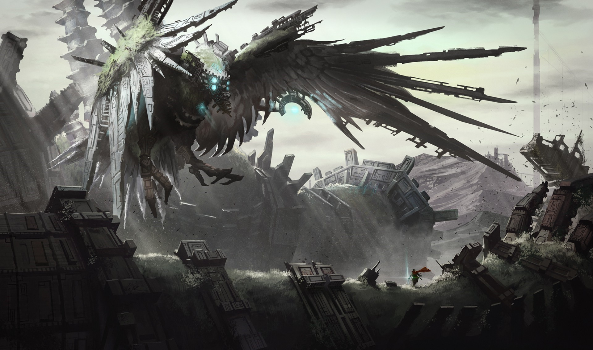 Shadow of the colossus wallpapers wallpapertag - Fantasy game wallpaper ...