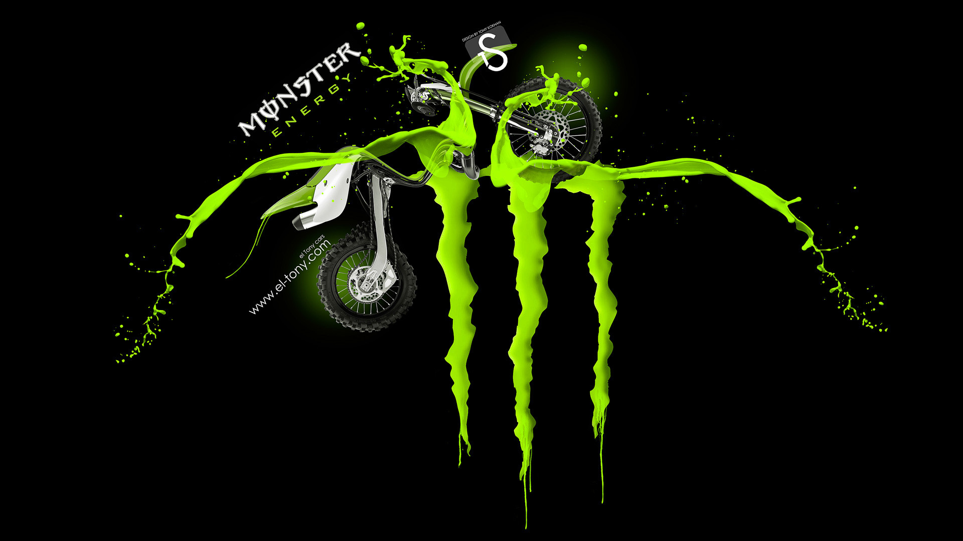 Hansen Motocross Monster Energy Wallpaper Hd 1920x1280