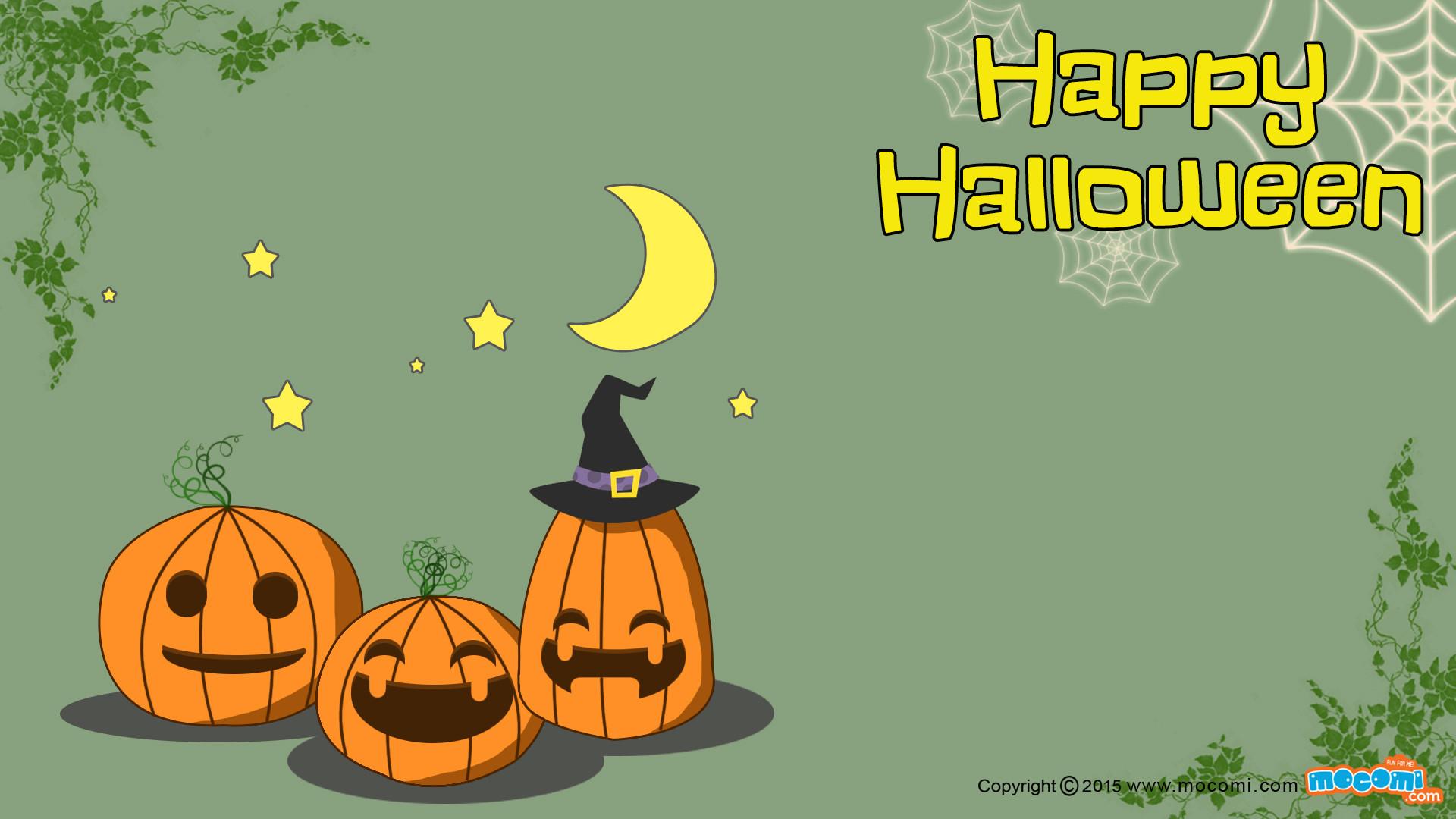 happy halloween desktop wallpaper ·①
