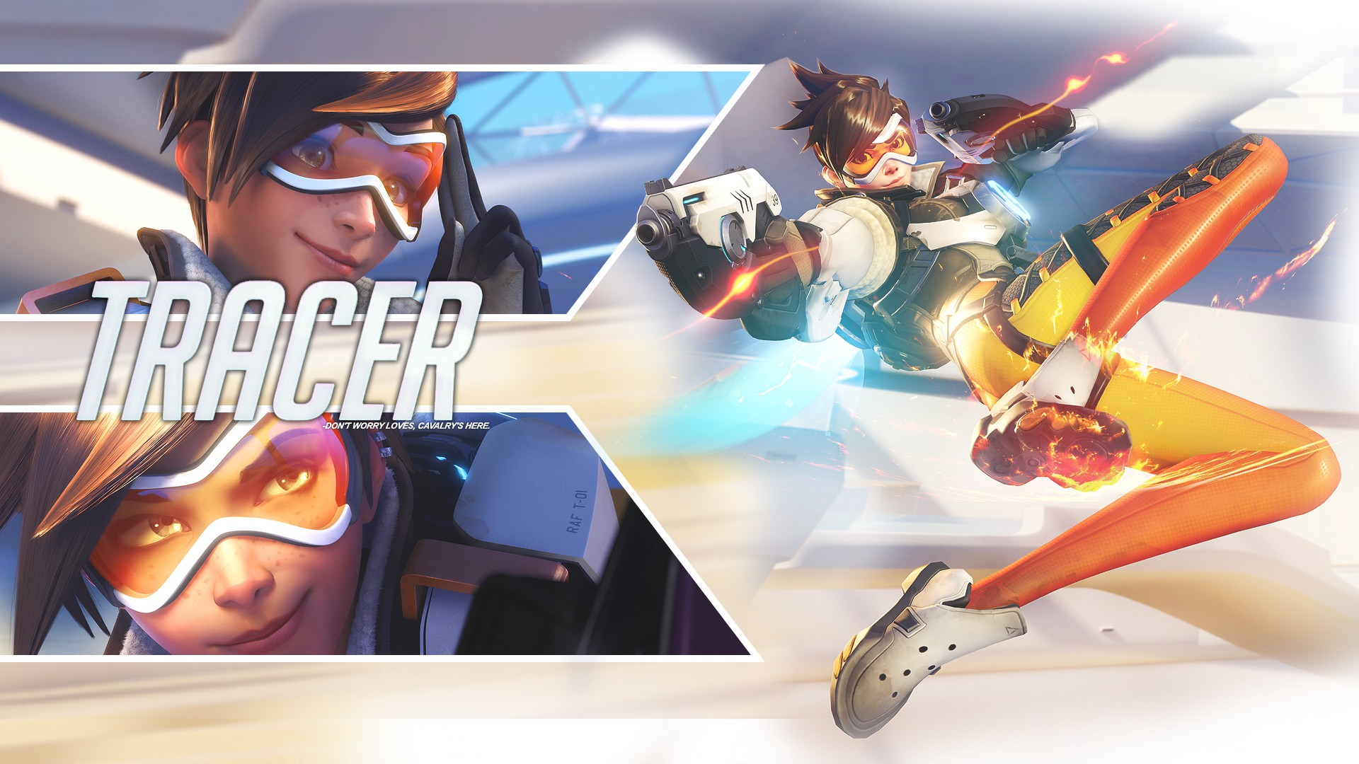 Overwatch full hd wallpaper and background 1920x1280 - 1920x1080 Gorgerous Overwatch Tracer Wallpaper 1920x1080 Computer