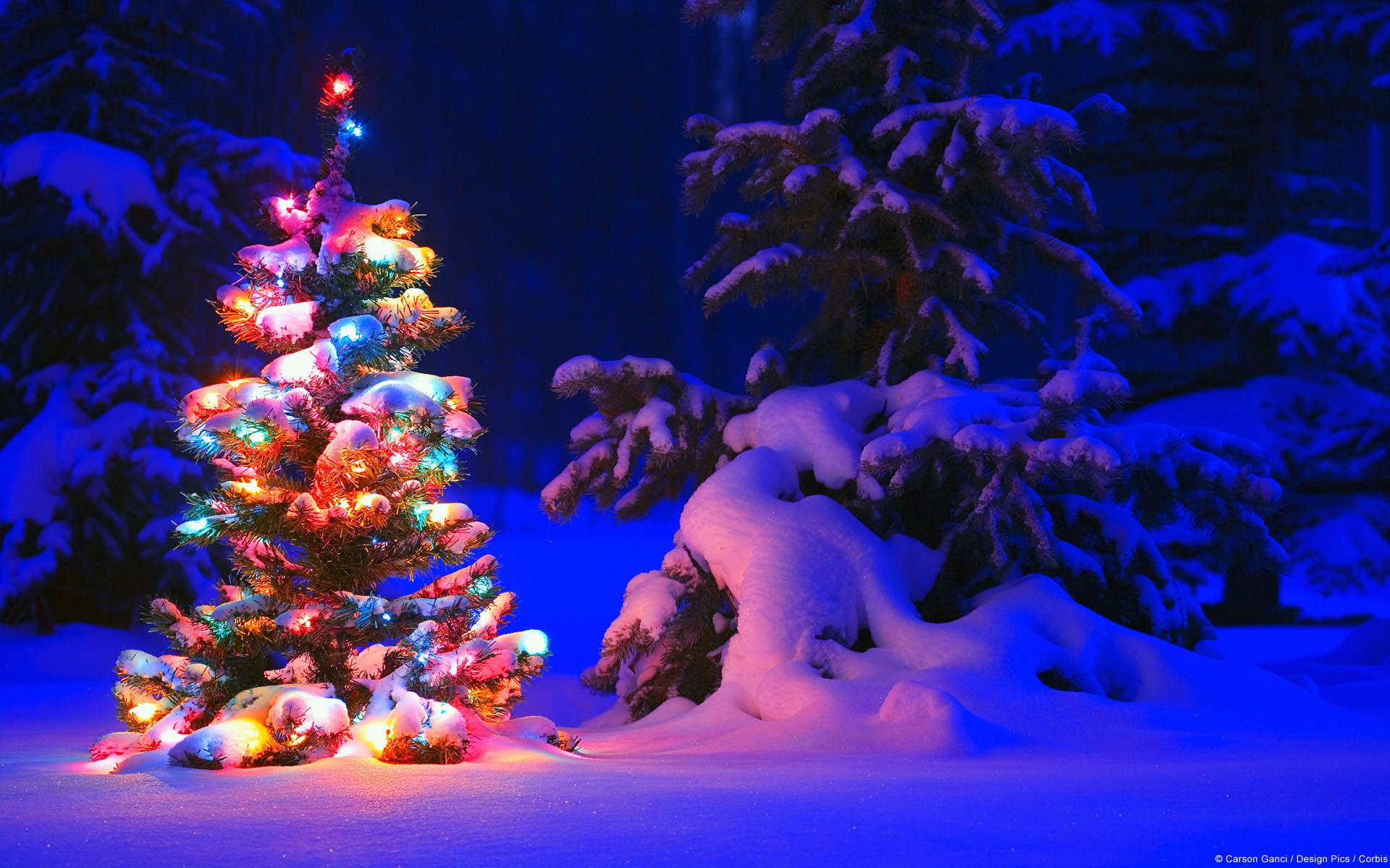desktop backgrounds christmas ·①