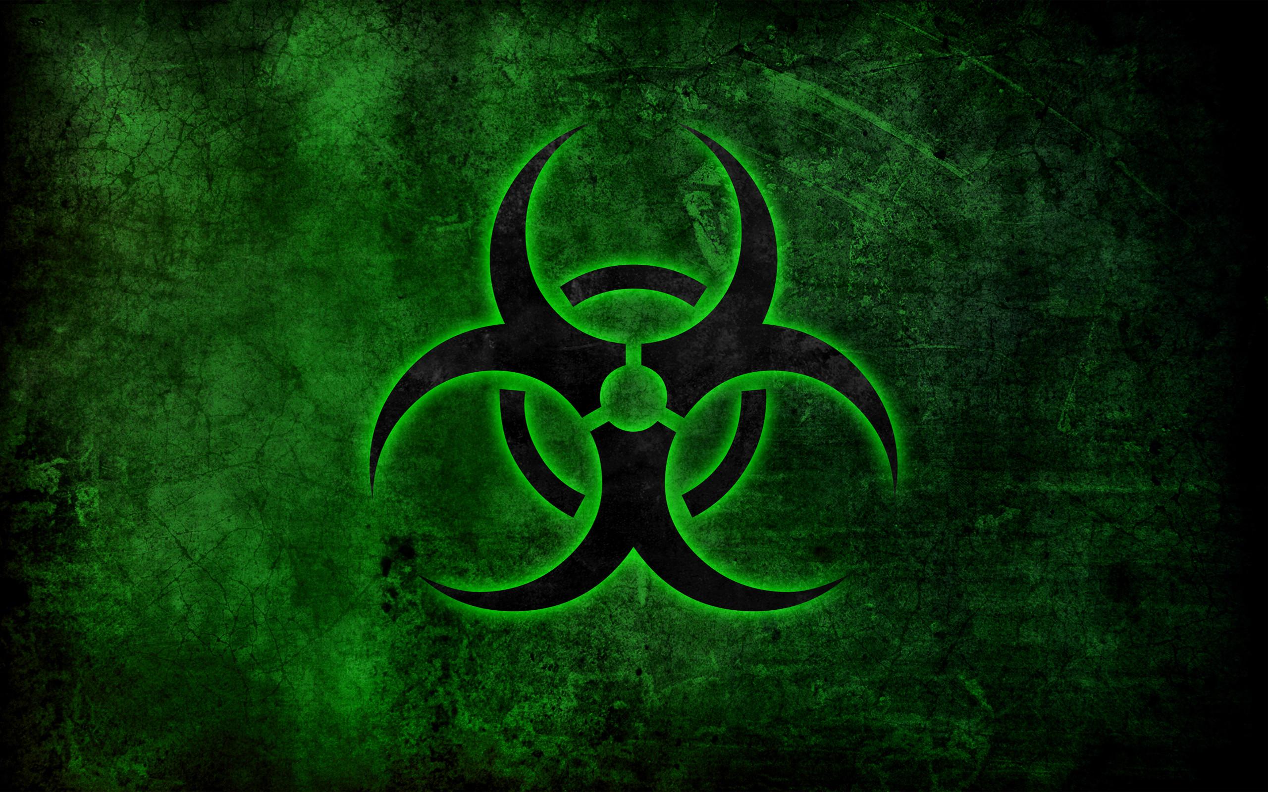 Biohazard Symbol Wallpaper
