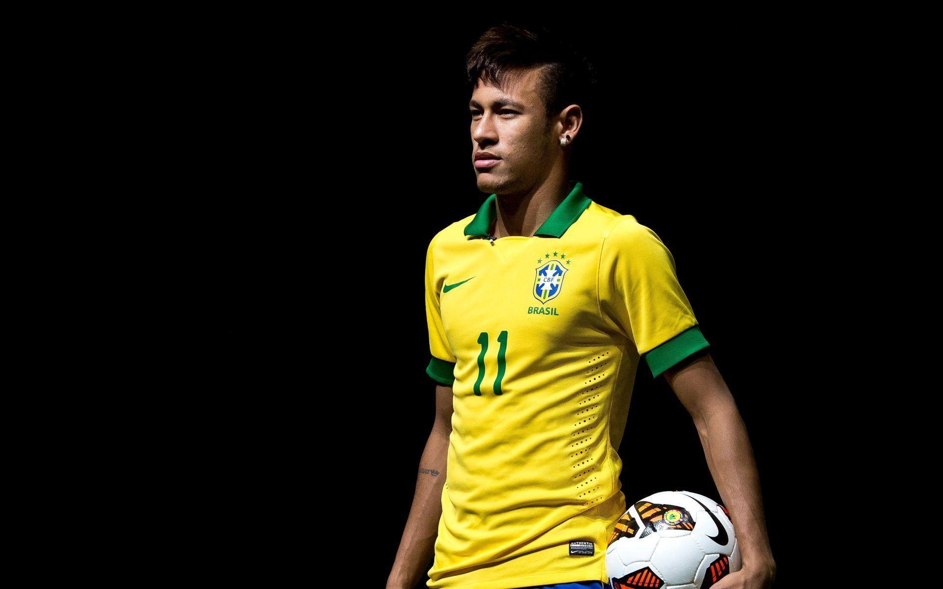 2018 Fifa Brazil Neymar 3D Wallpaper 1