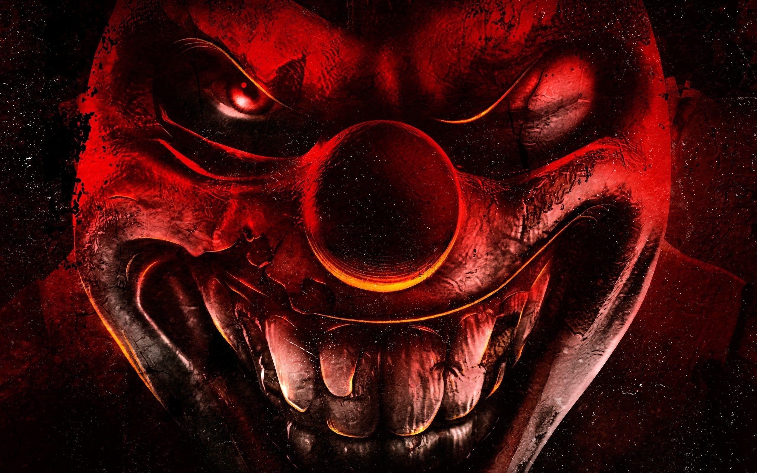 scary joker wallpaper