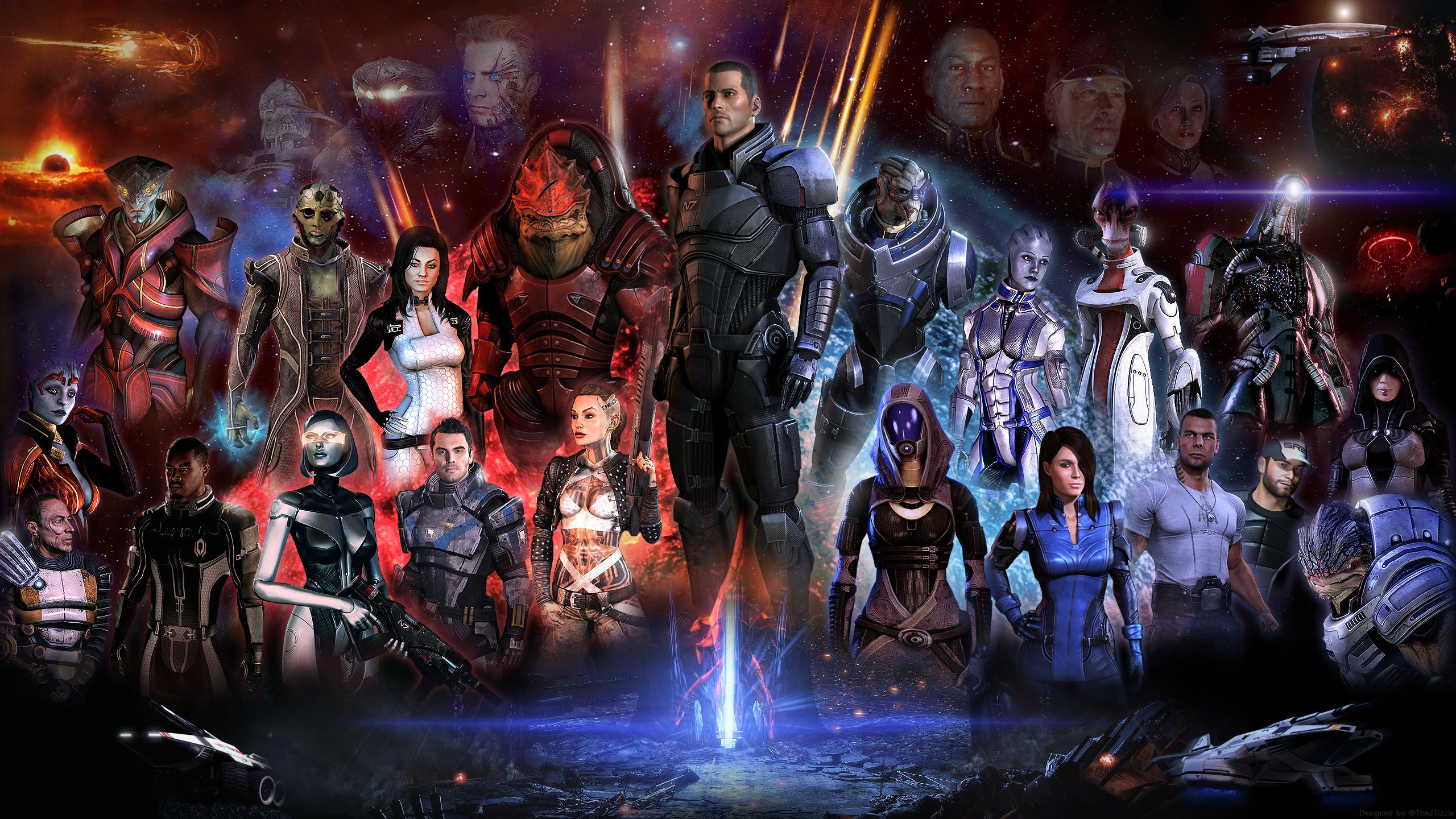 Mass Effect Desktop Background Wallpapertag
