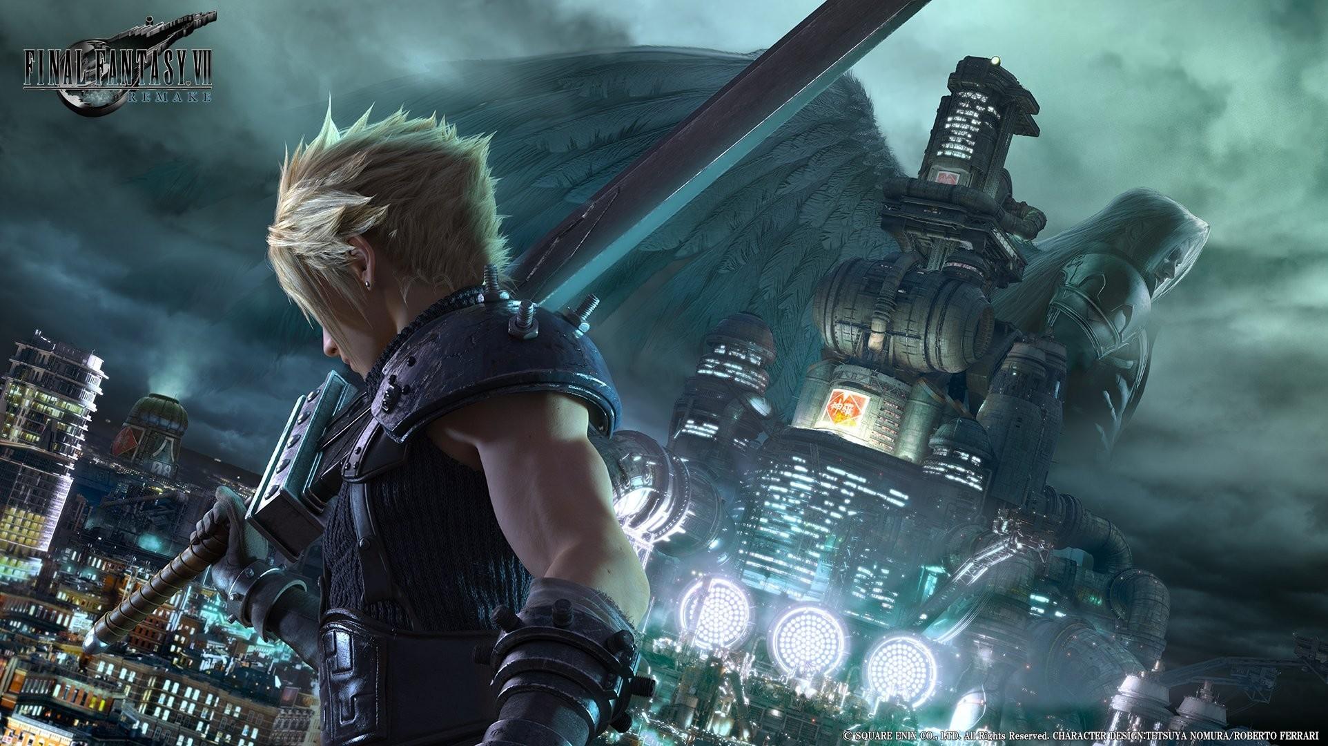 Final Fantasy Cloud Wallpaper Hd Wallpapertag