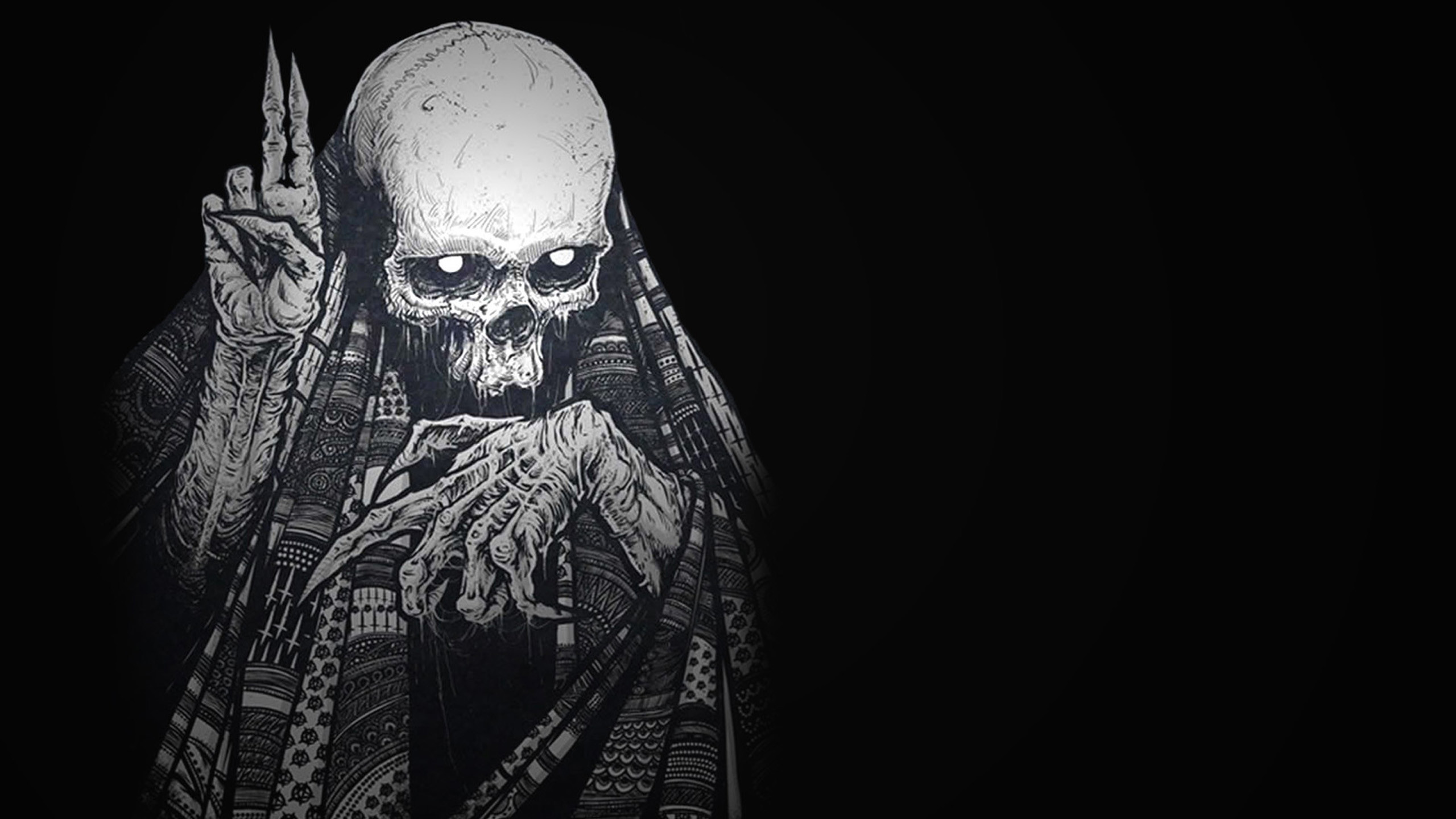 Black Skull Background Wallpapertag