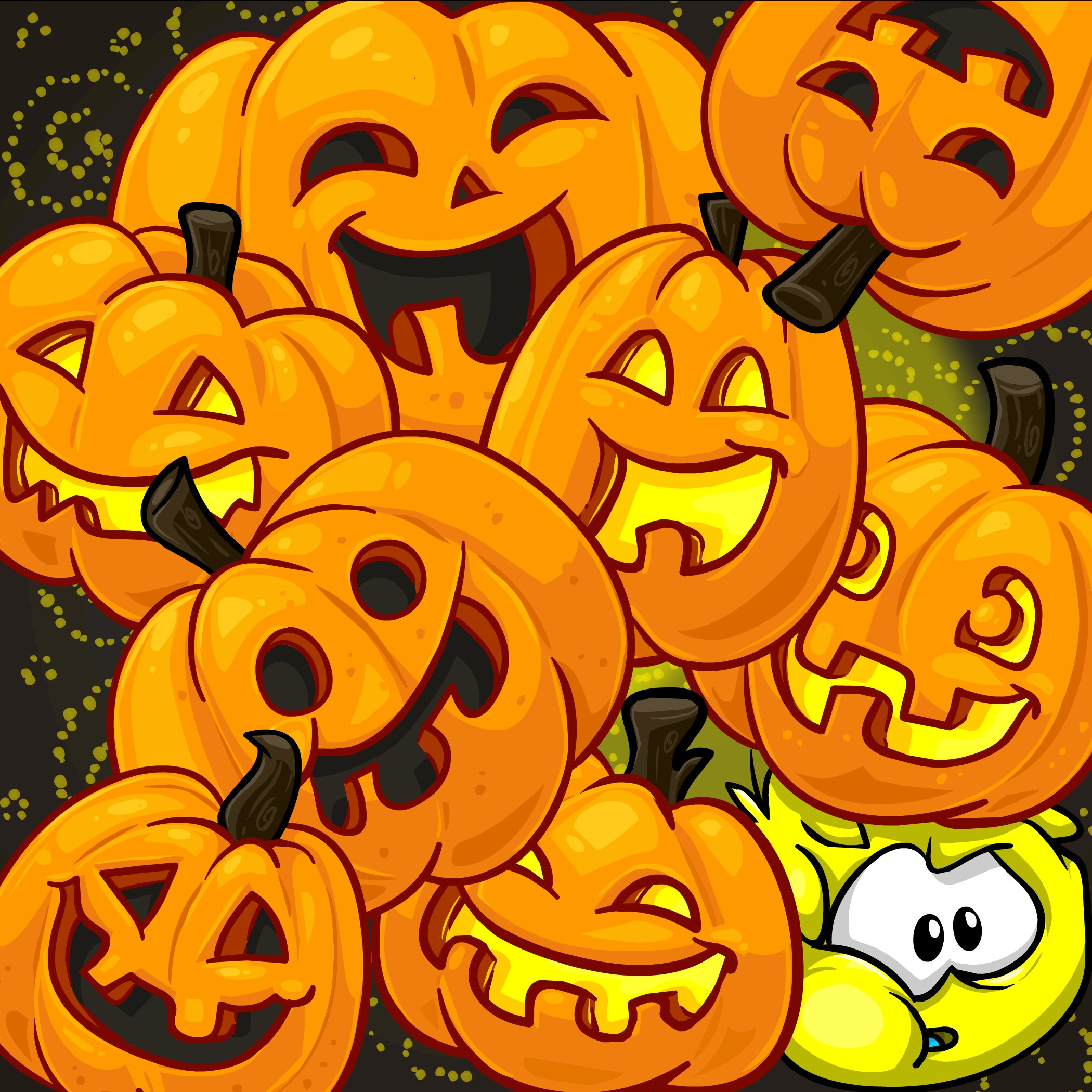 Pumpkin background ·① Download free full HD backgrounds ...