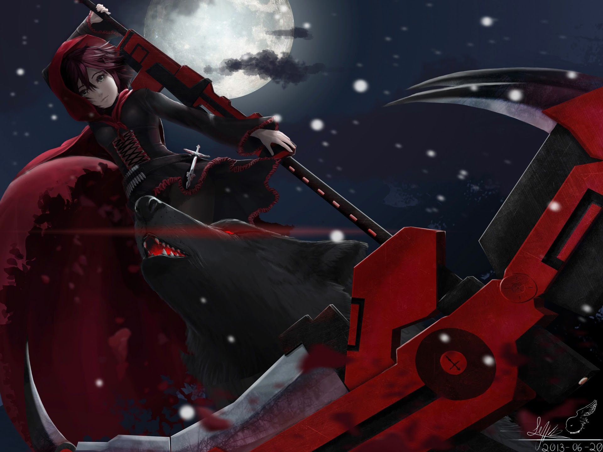 Ruby Rose Rwby Wallpaper Download Free Beautiful Wallpapers For