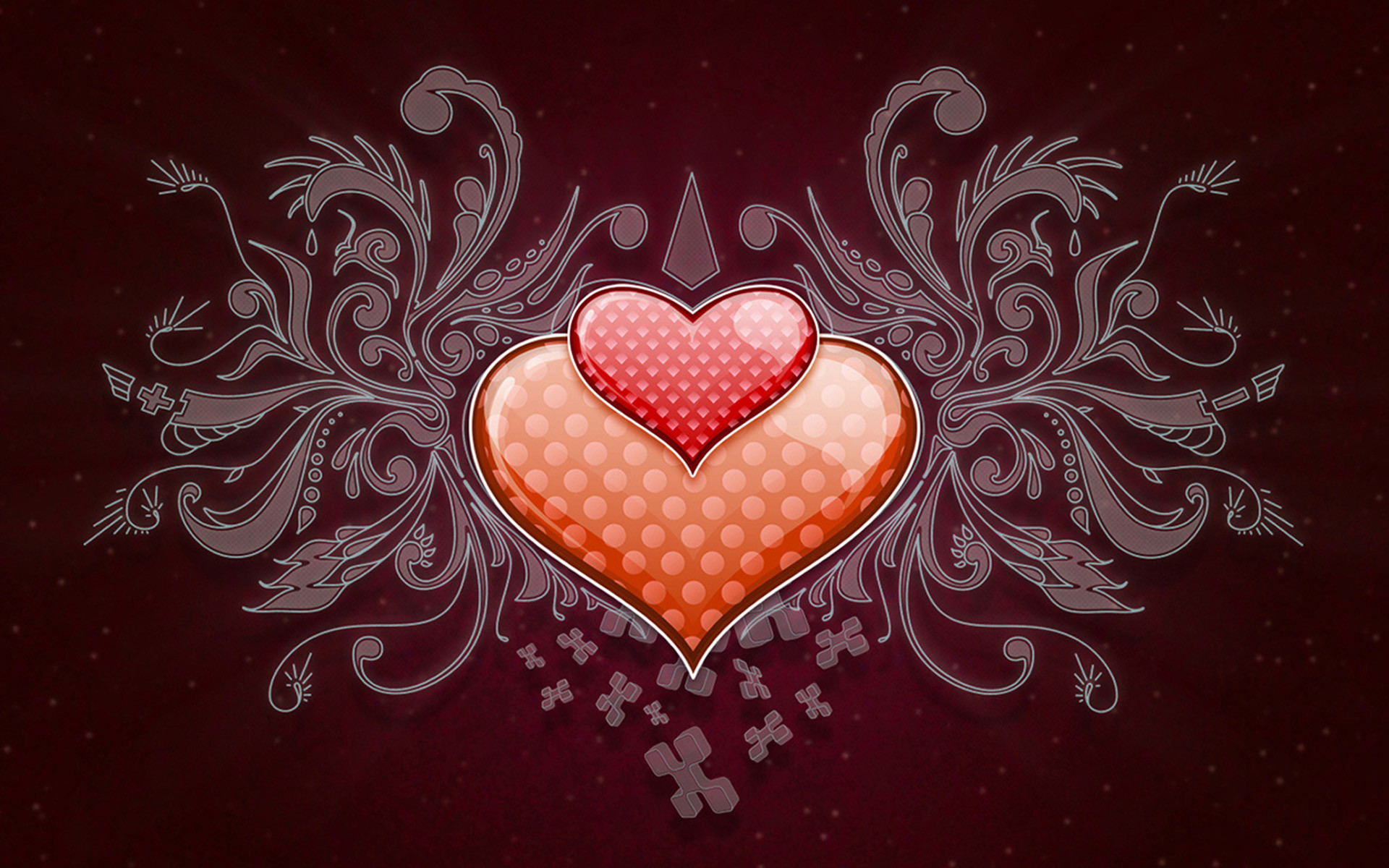 Heart In Love Wallpaper Hd: Love Heart Wallpaper HD ·① WallpaperTag