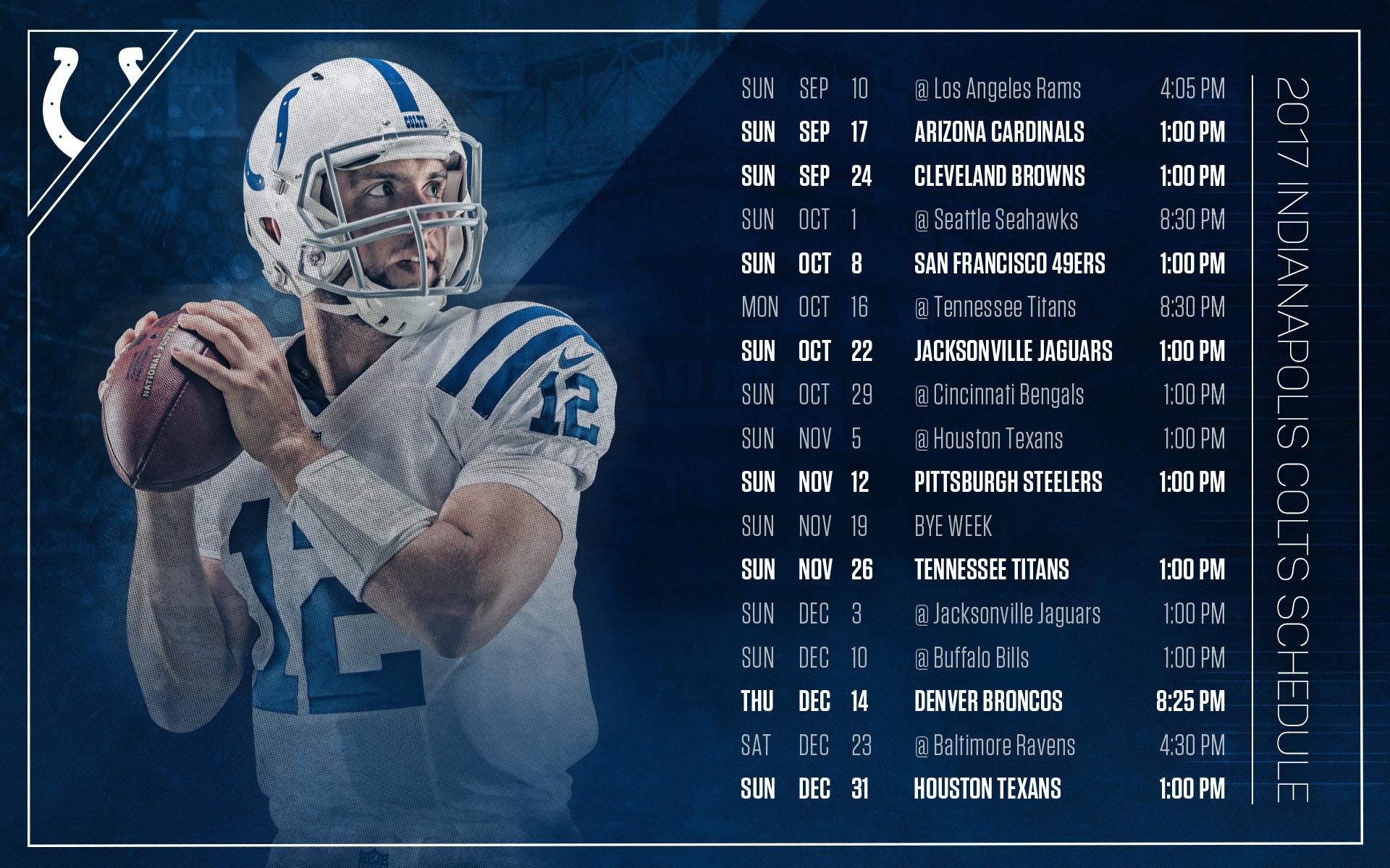 Indianapolis Colts Wallpaper 2017 1