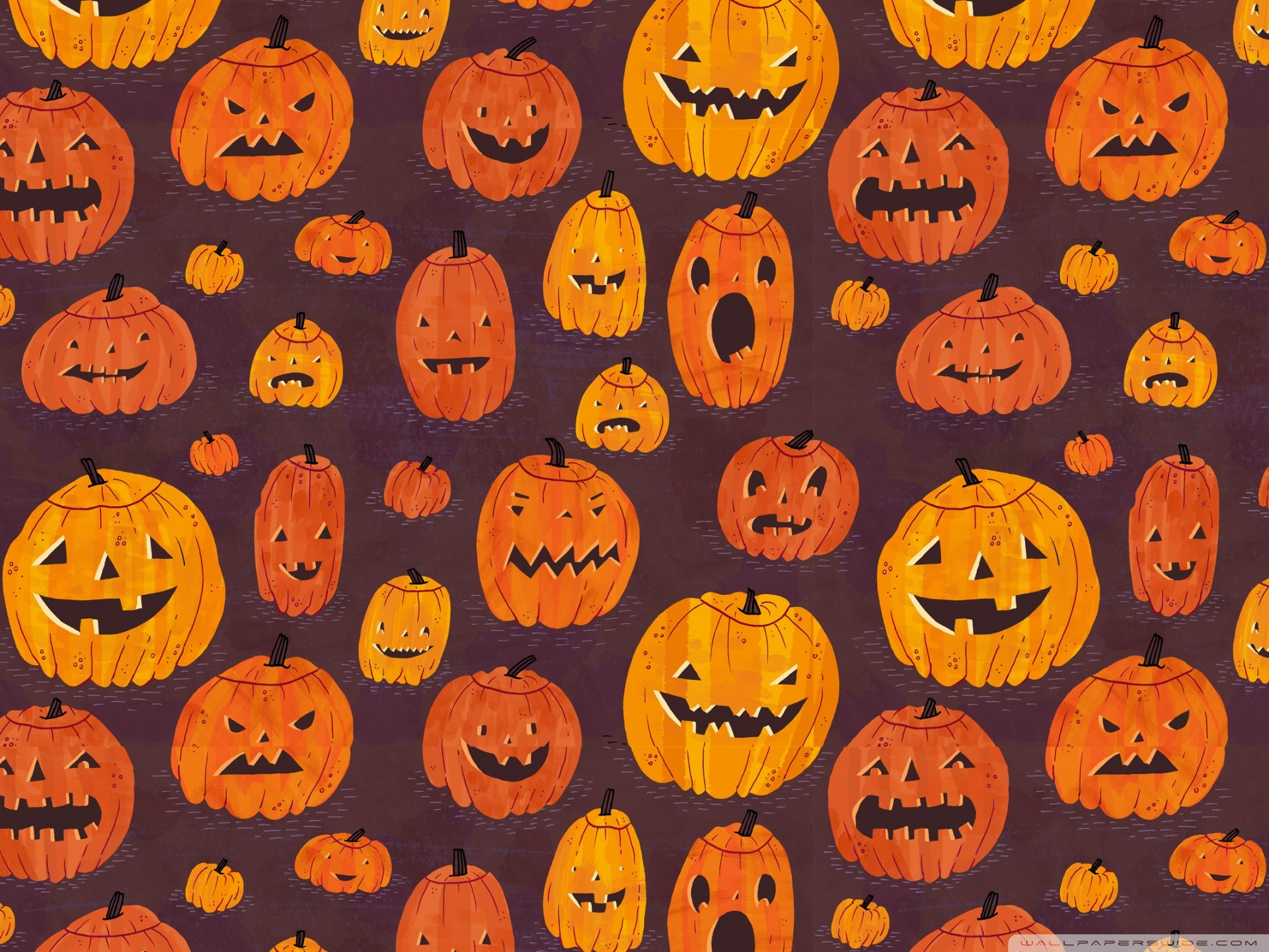 cute halloween desktop wallpaper ·①