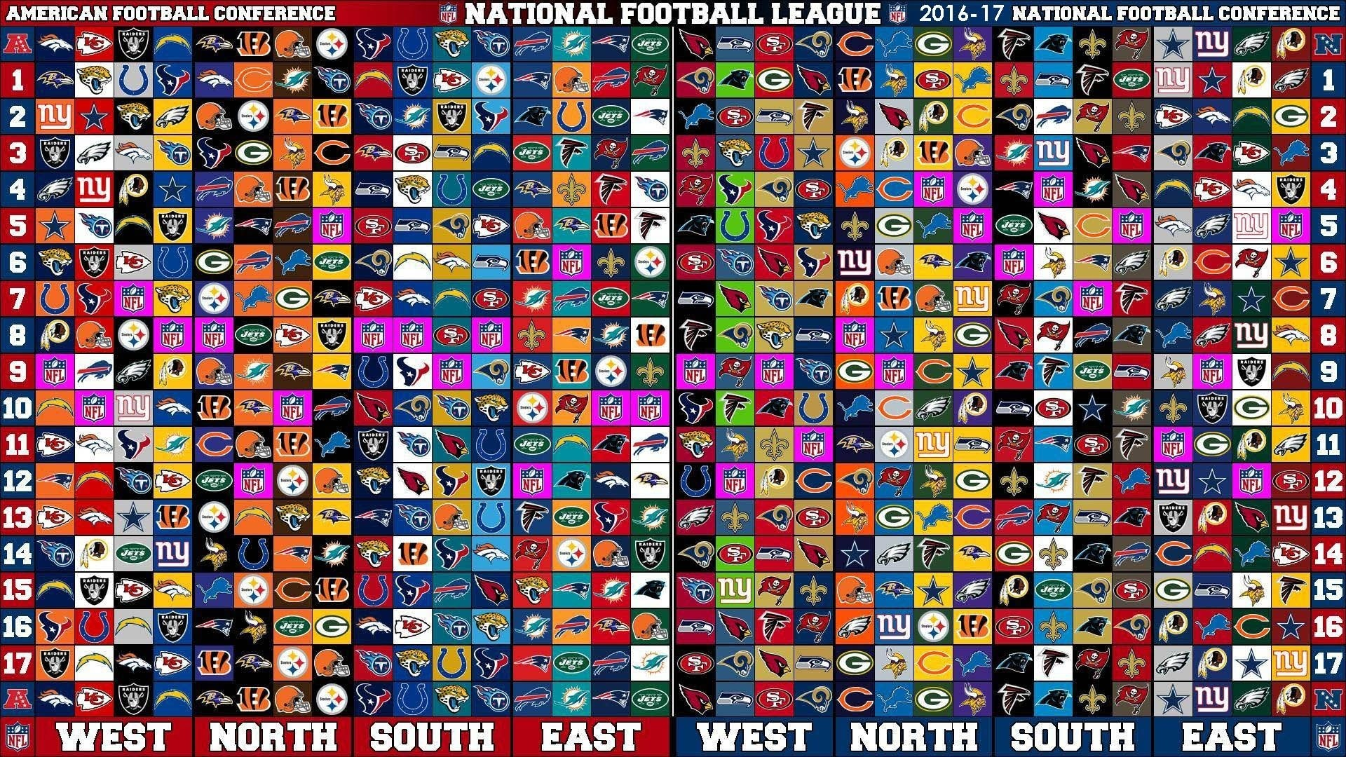 1920x1080 Nfl Teams Wallpapers 2016 Wallpaper Cave Live 2017