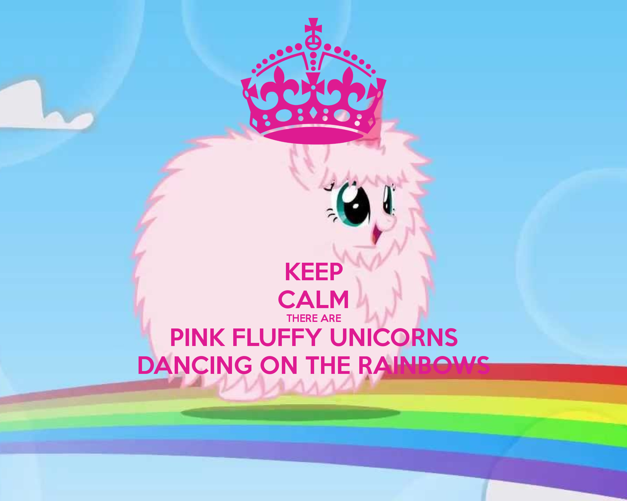 pink fluffy unicorns wallpapers 183 wallpapertag